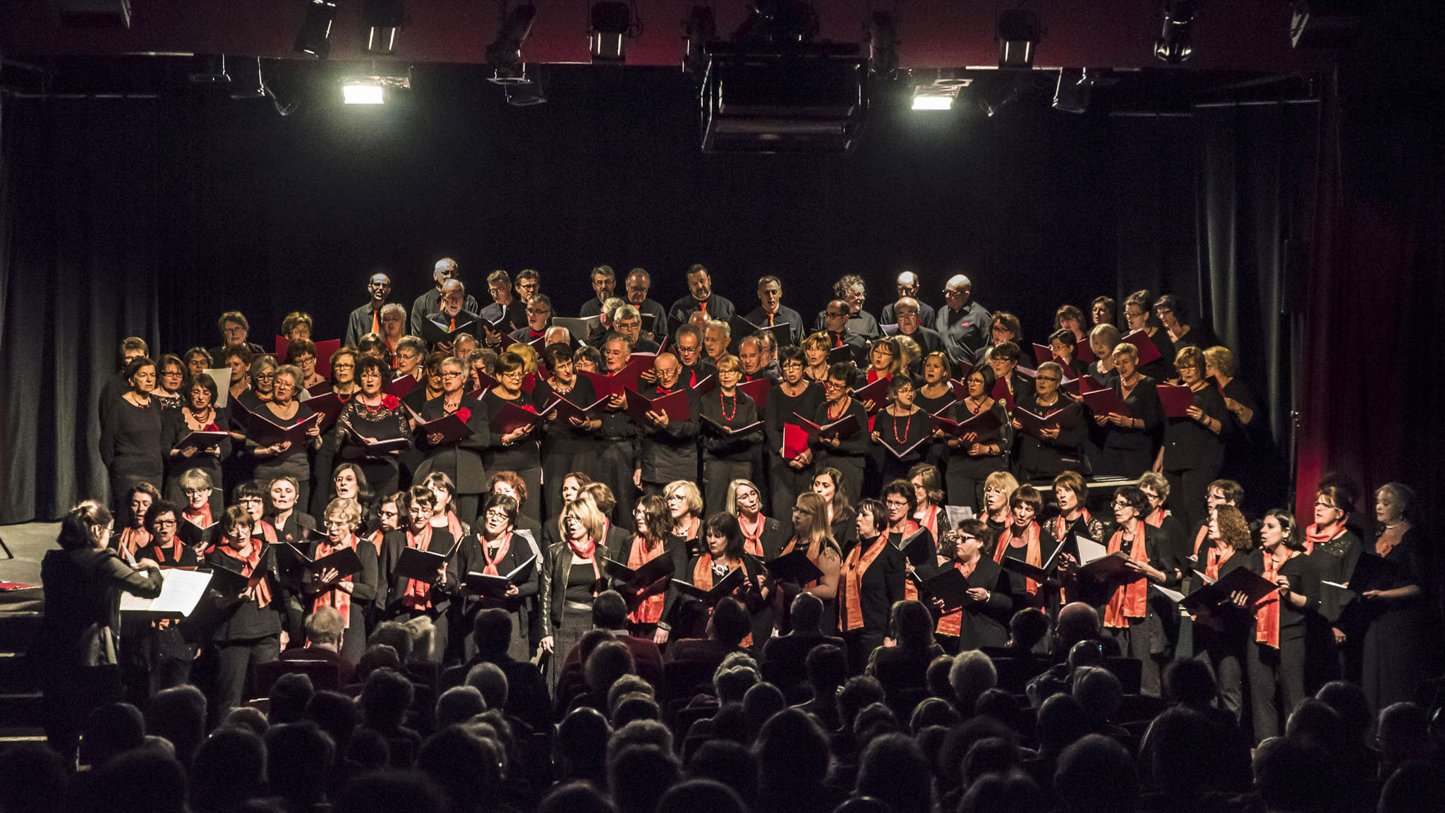 Concert à l'Atrium avec la chorale chant'avertin le 29 janvier