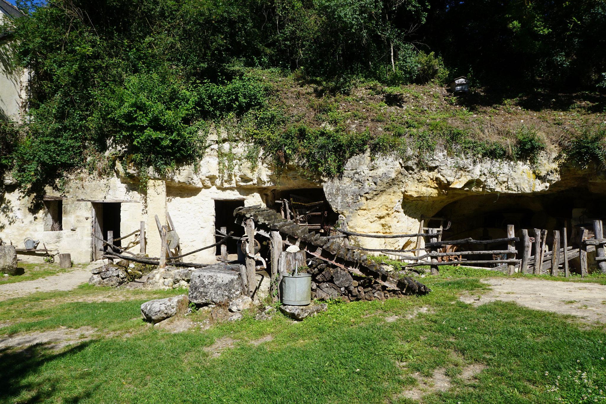 Le site des Goupillières