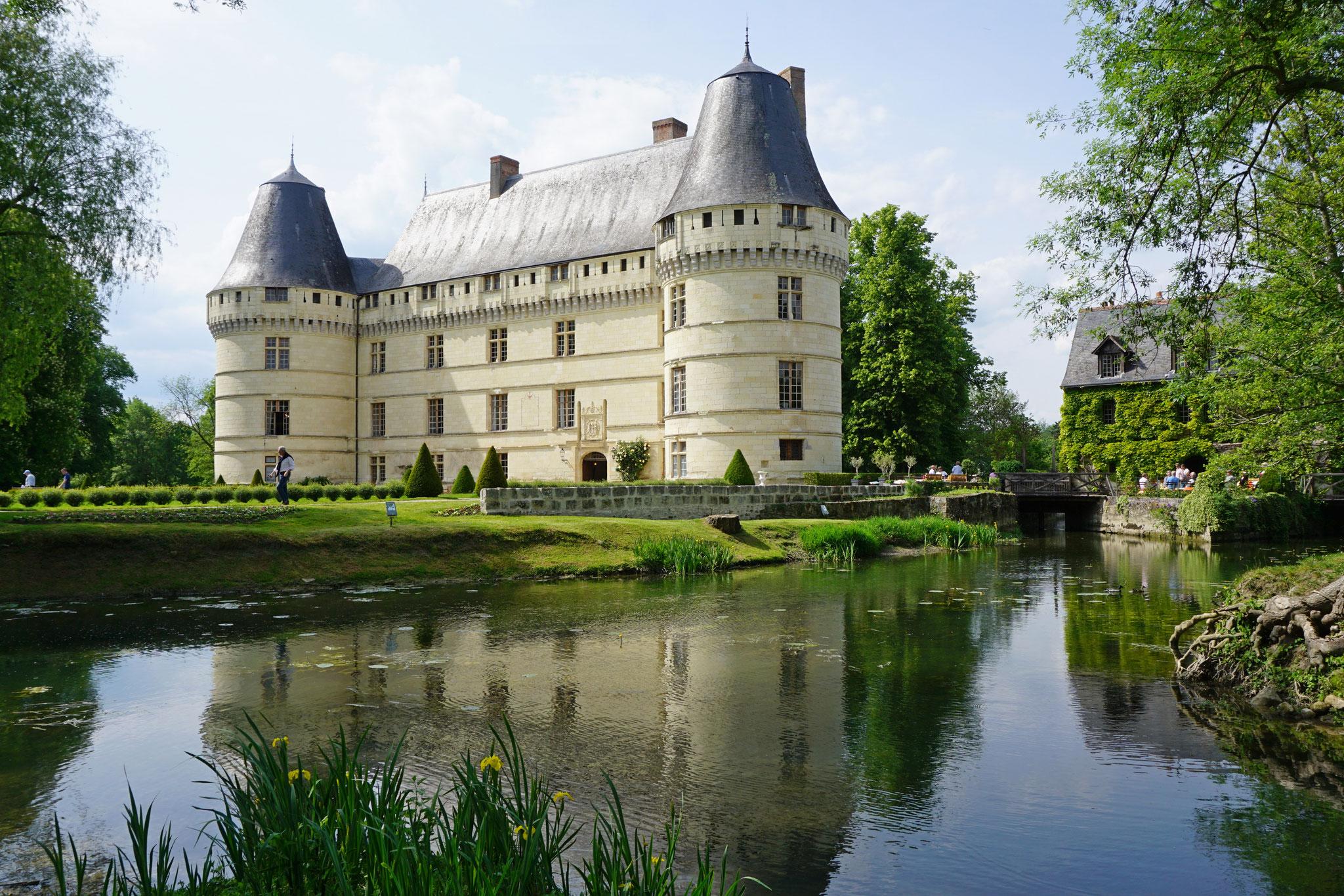 Direction le château de l'Islette à Azay le Rideau