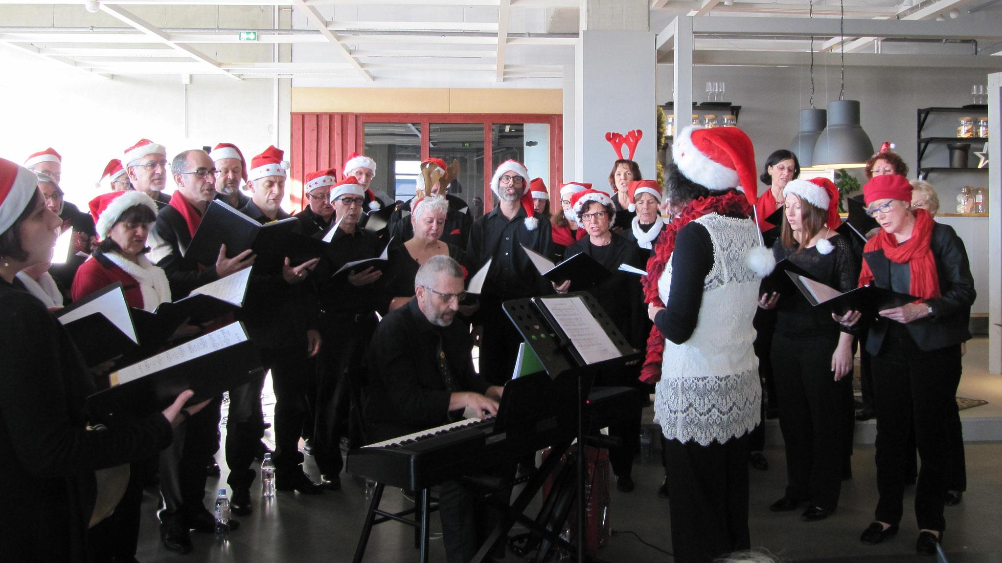 Concert de Noël à IKEA le 17 décembre