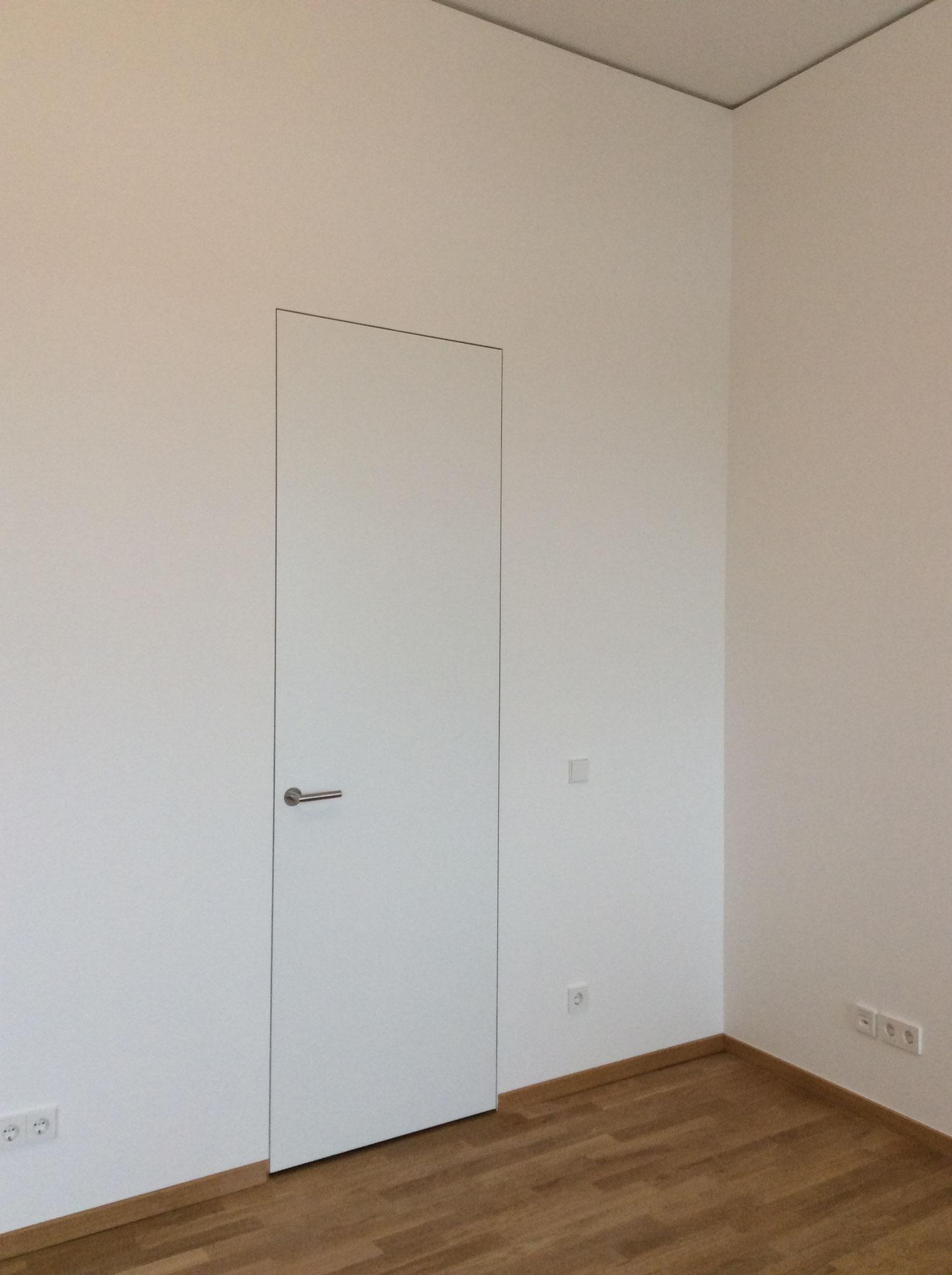 Zimmertür wandbündig