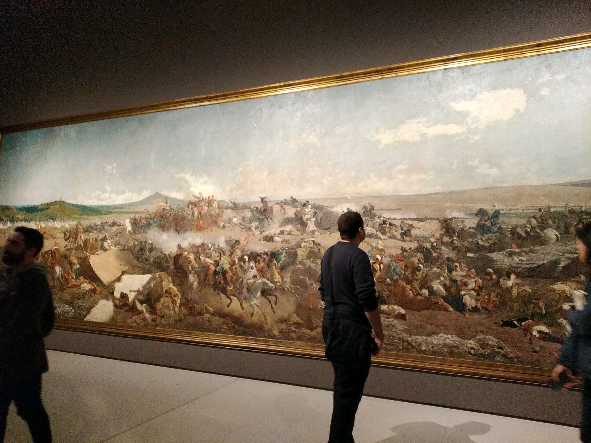 La Batalla de Tetuan de Marià Fortuny