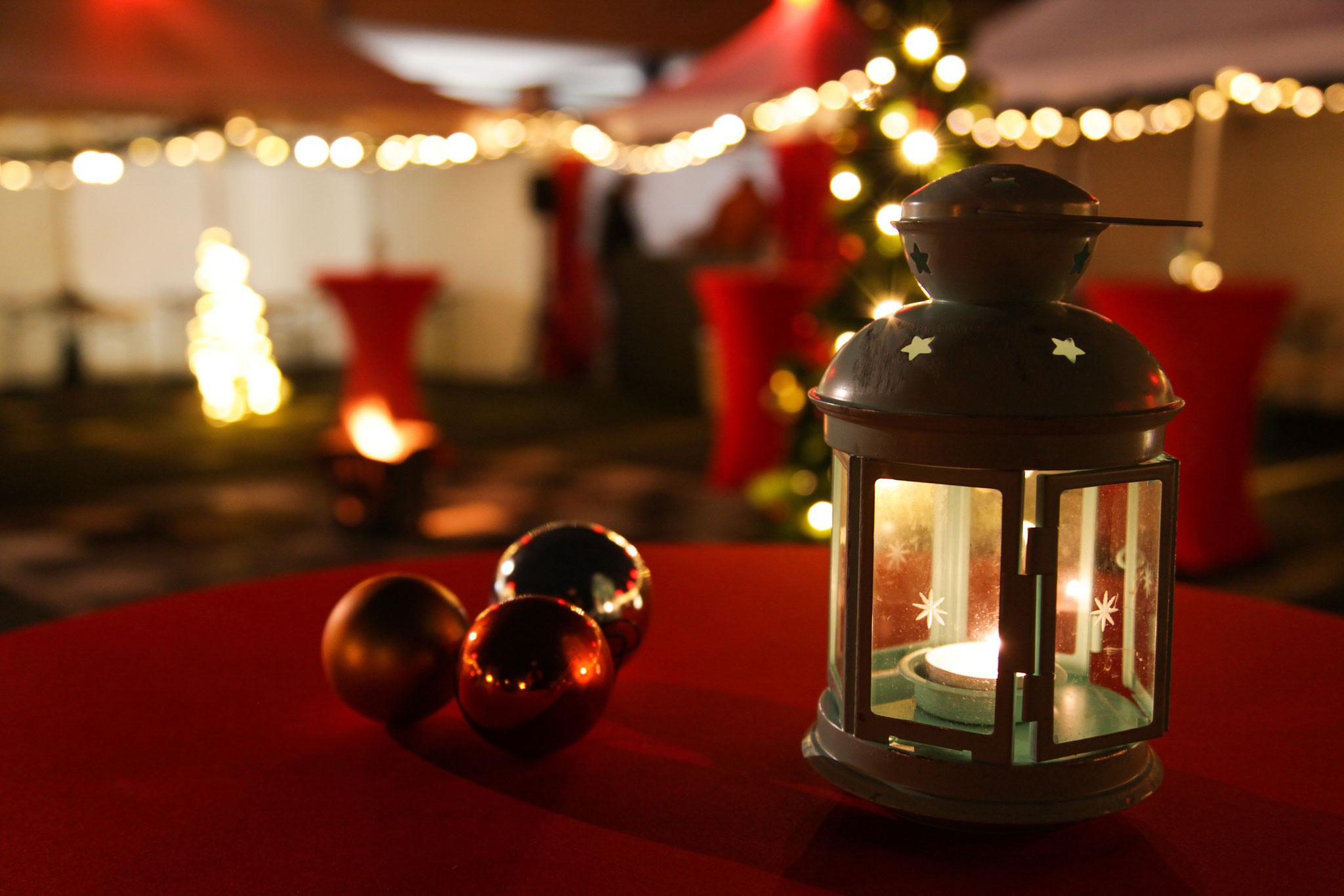 Wir sorgen für entspannte Stimmung auf Ihrer Weihnachtsfeier!