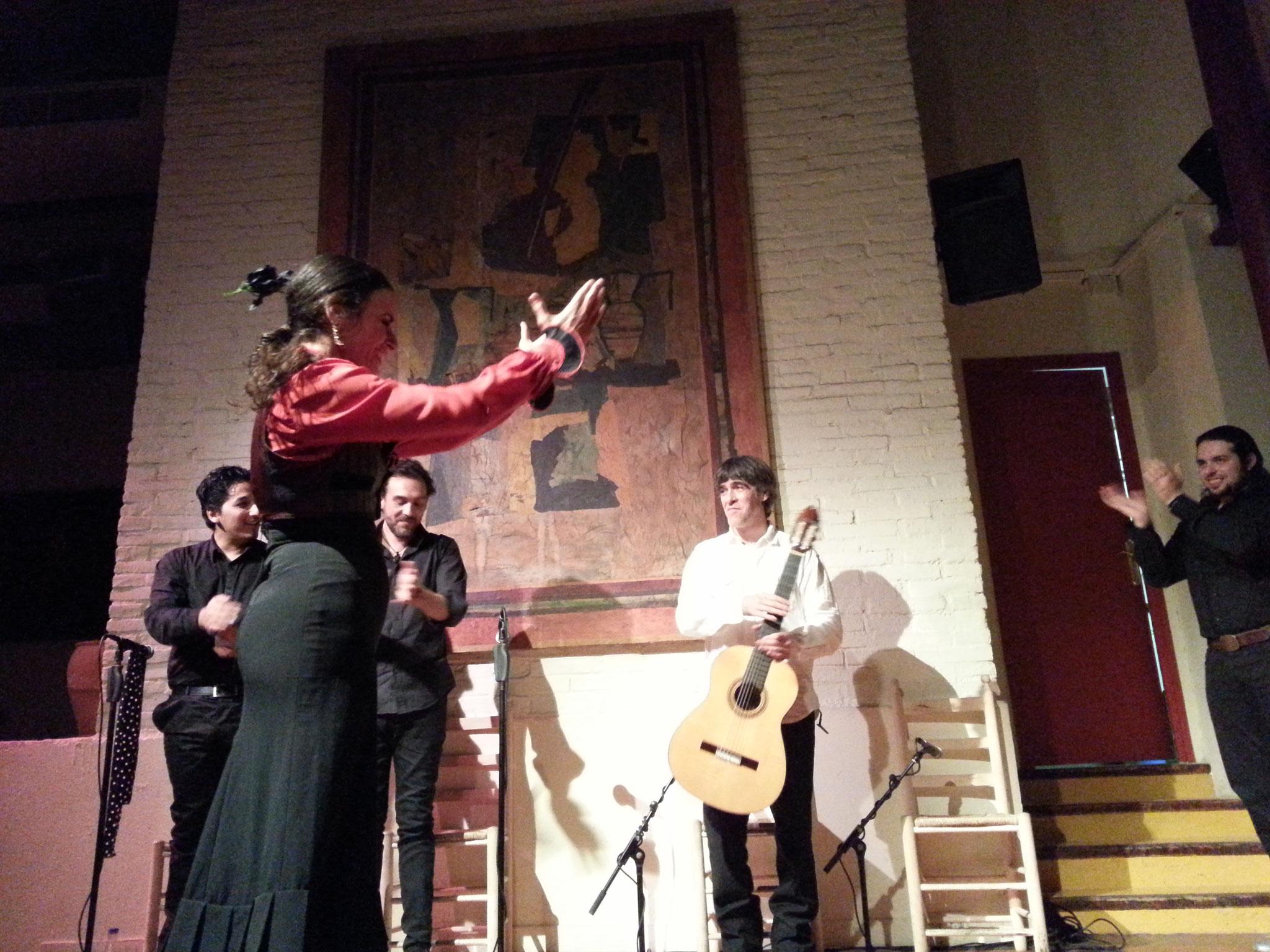 Flamenco au tablao de Carmen