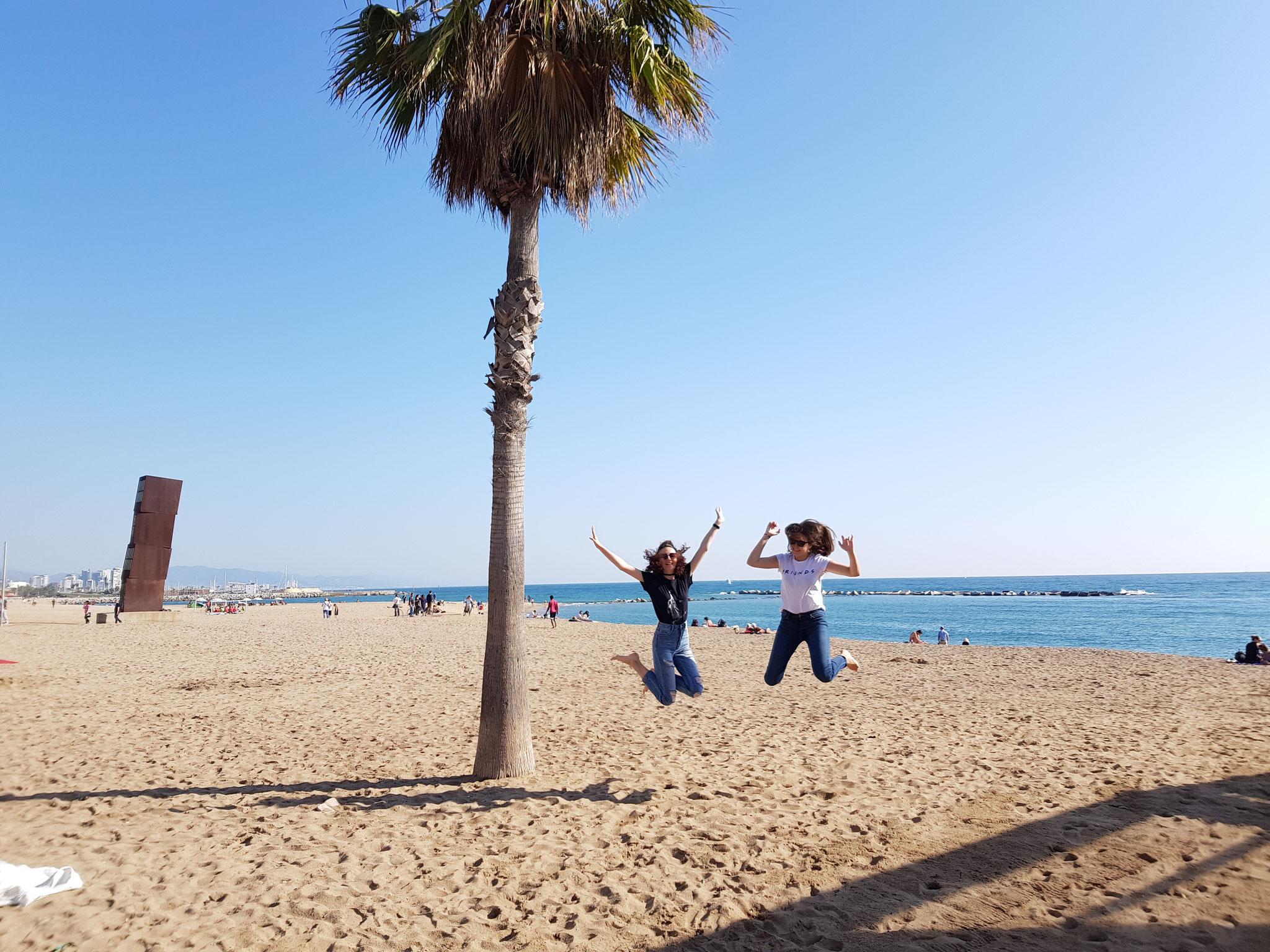 La plage Barceloneta