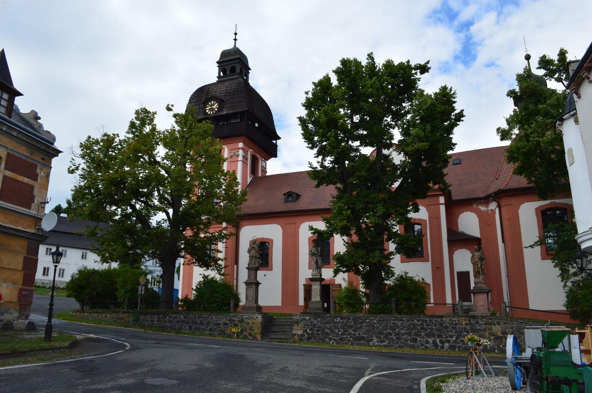 Valec - Dorfkirche