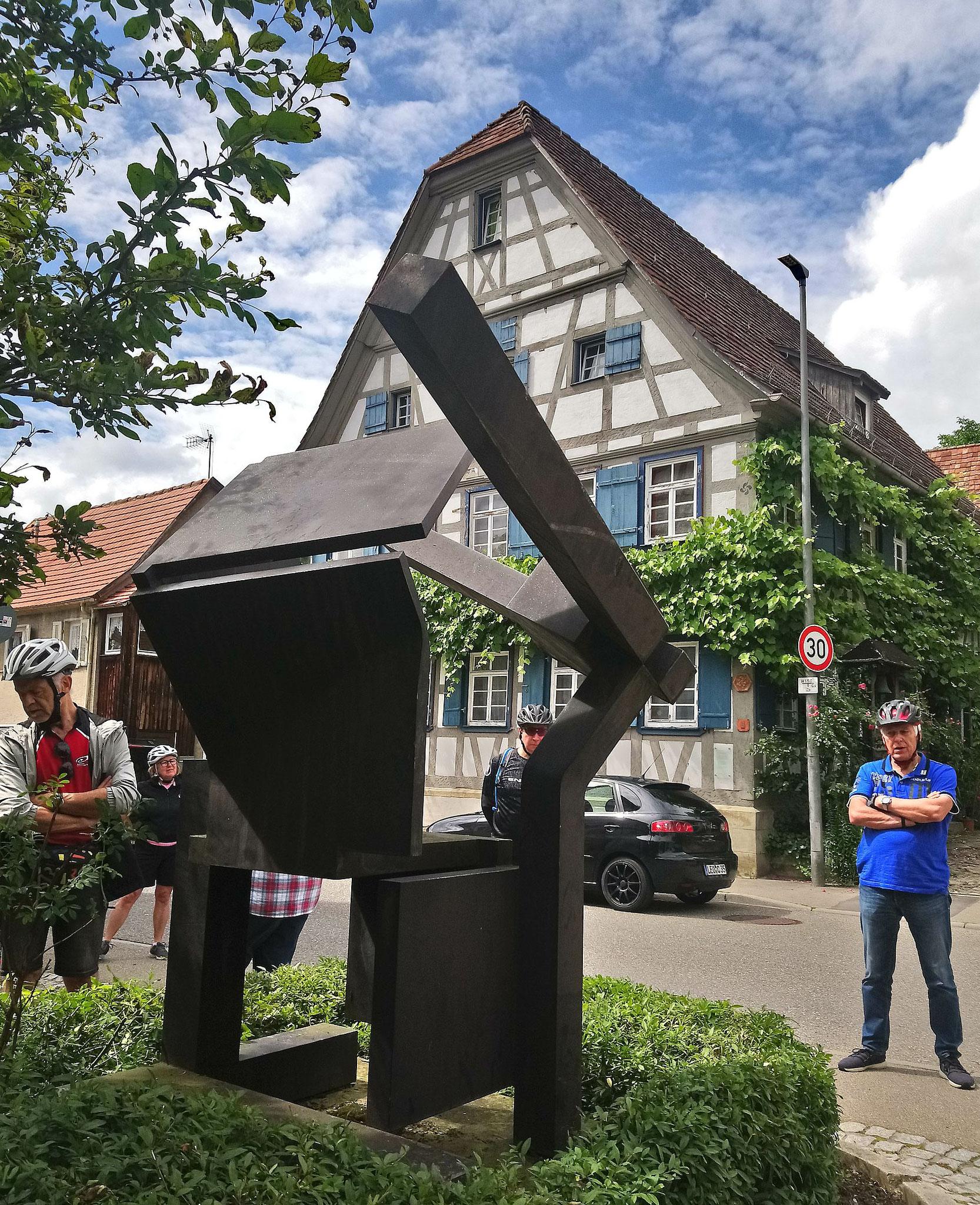 """""""Würfel in Entfaltung"""" von Max Schmitz"""