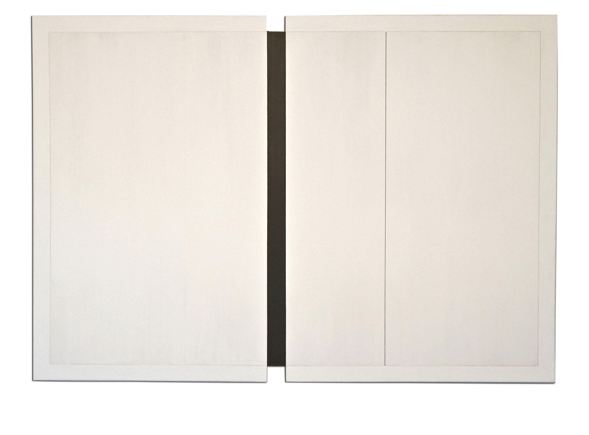 Colle de peau sur toile - 130x90x3 cm