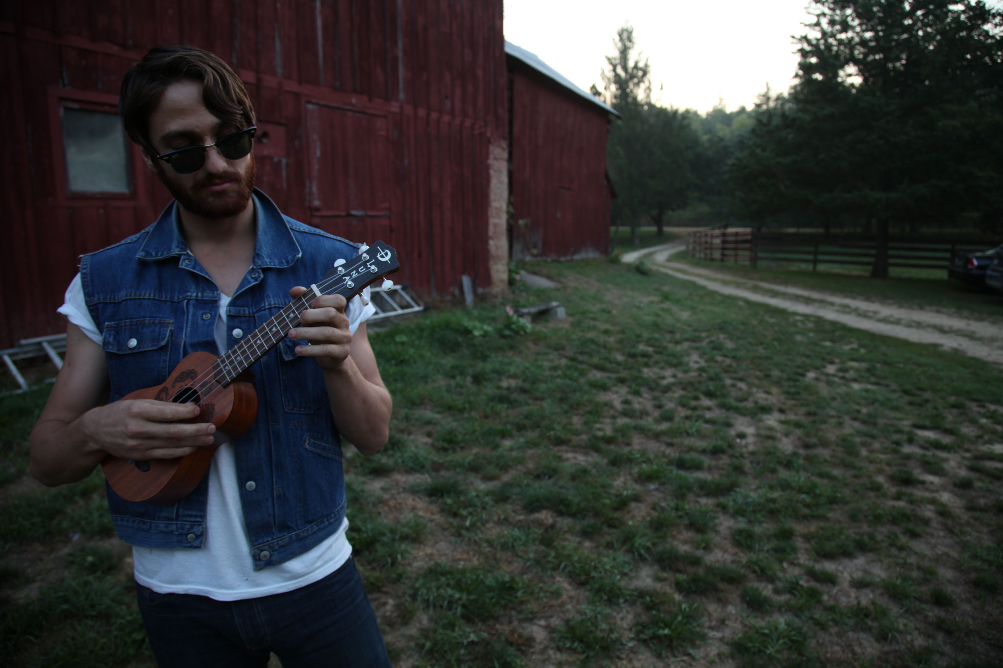 Adam Budron was playing the ukulele long before the hipster movement took over.