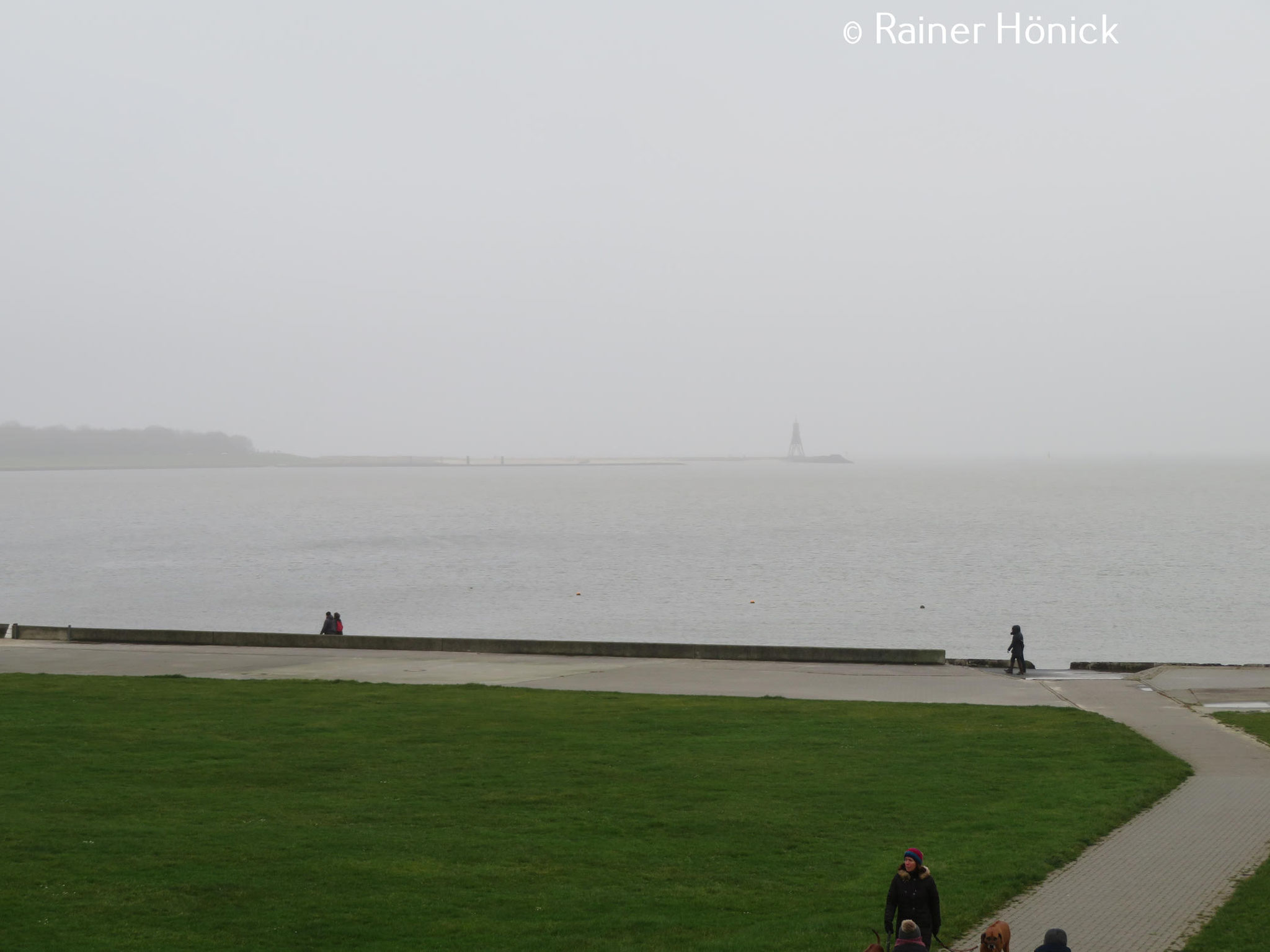 Heute Sonntag, der 26. Januar, sehr Nebelig, um die 0 Grad, kalter Wind aus Ost