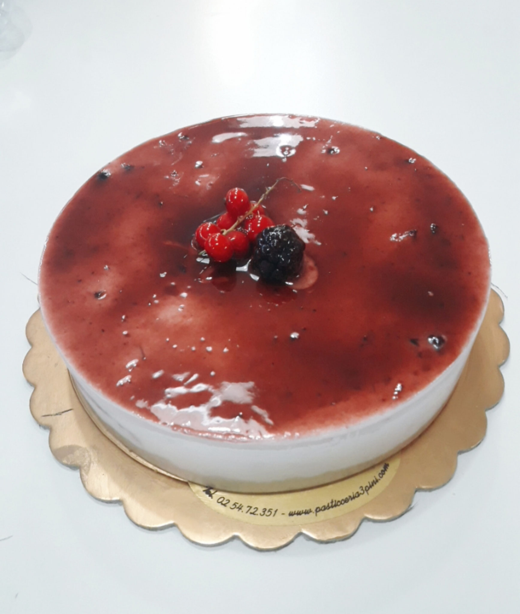 Cheescake frutti di bosco