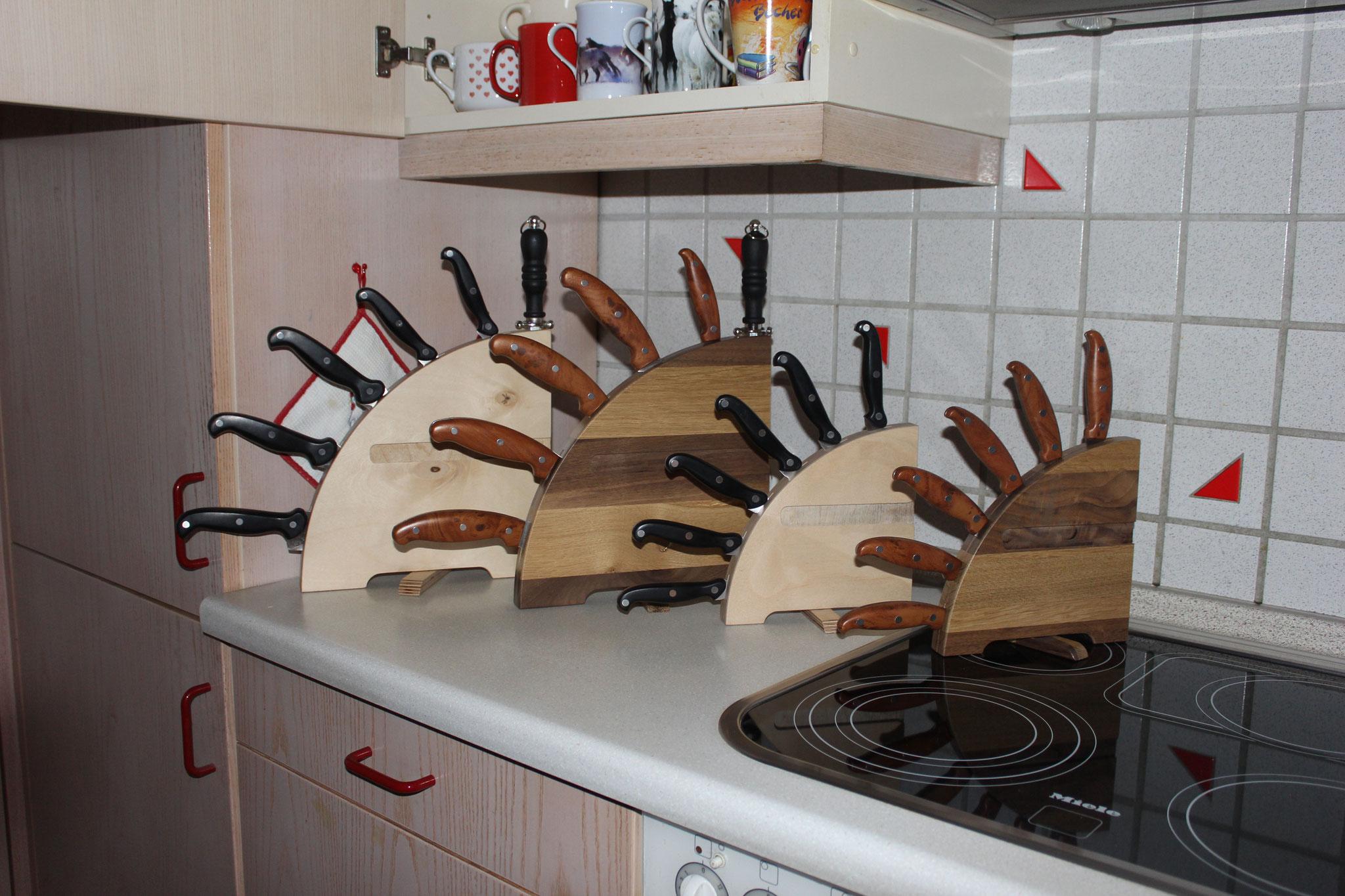 Messerbretter klein und groß (Farb-Beispiel)