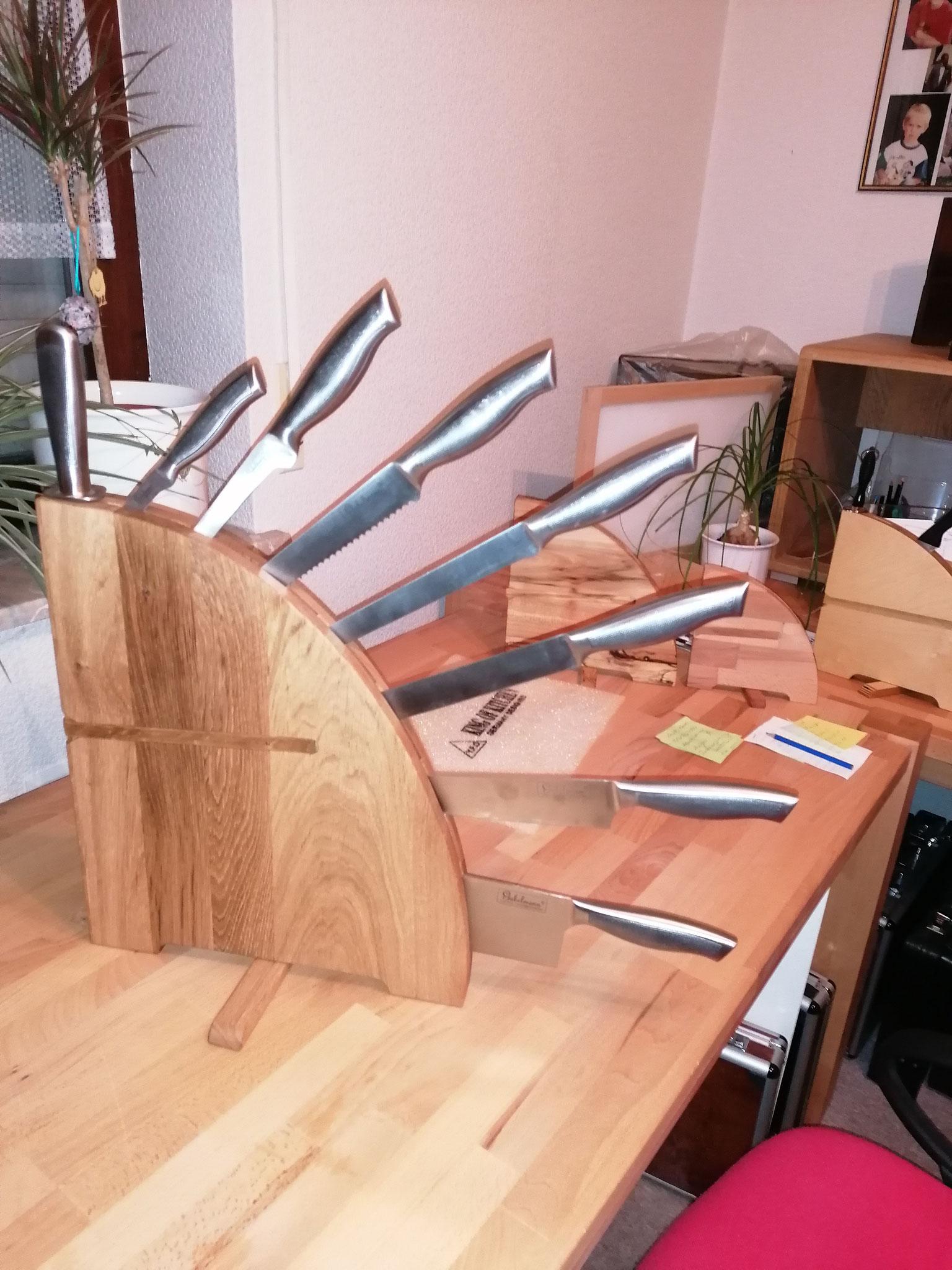 Sonderanfertigung für mehr Messer nach Kundenvorgabe