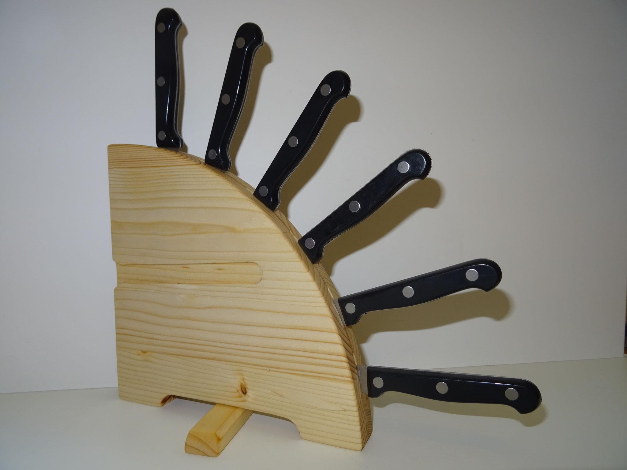 Fichte klein mit Messer (Farb-Beispiel)