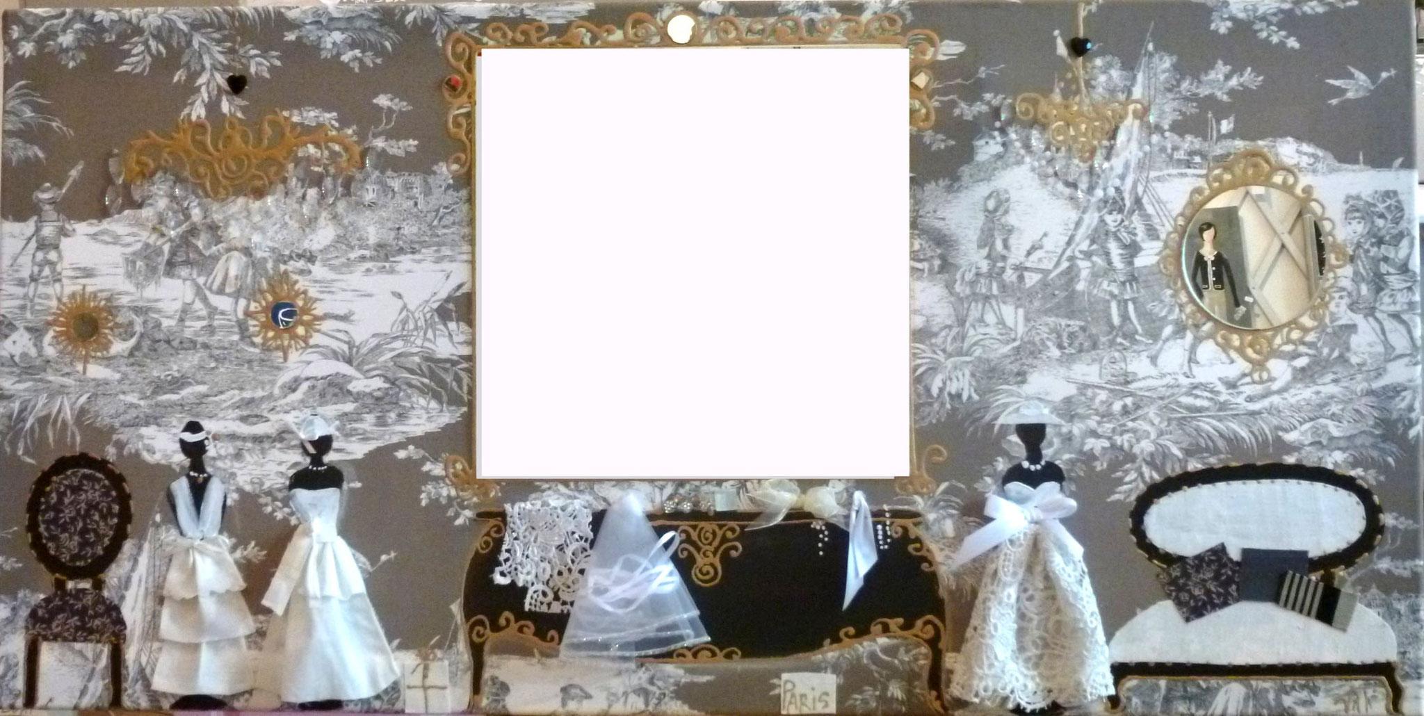 salon de couture avec miroir 70x50