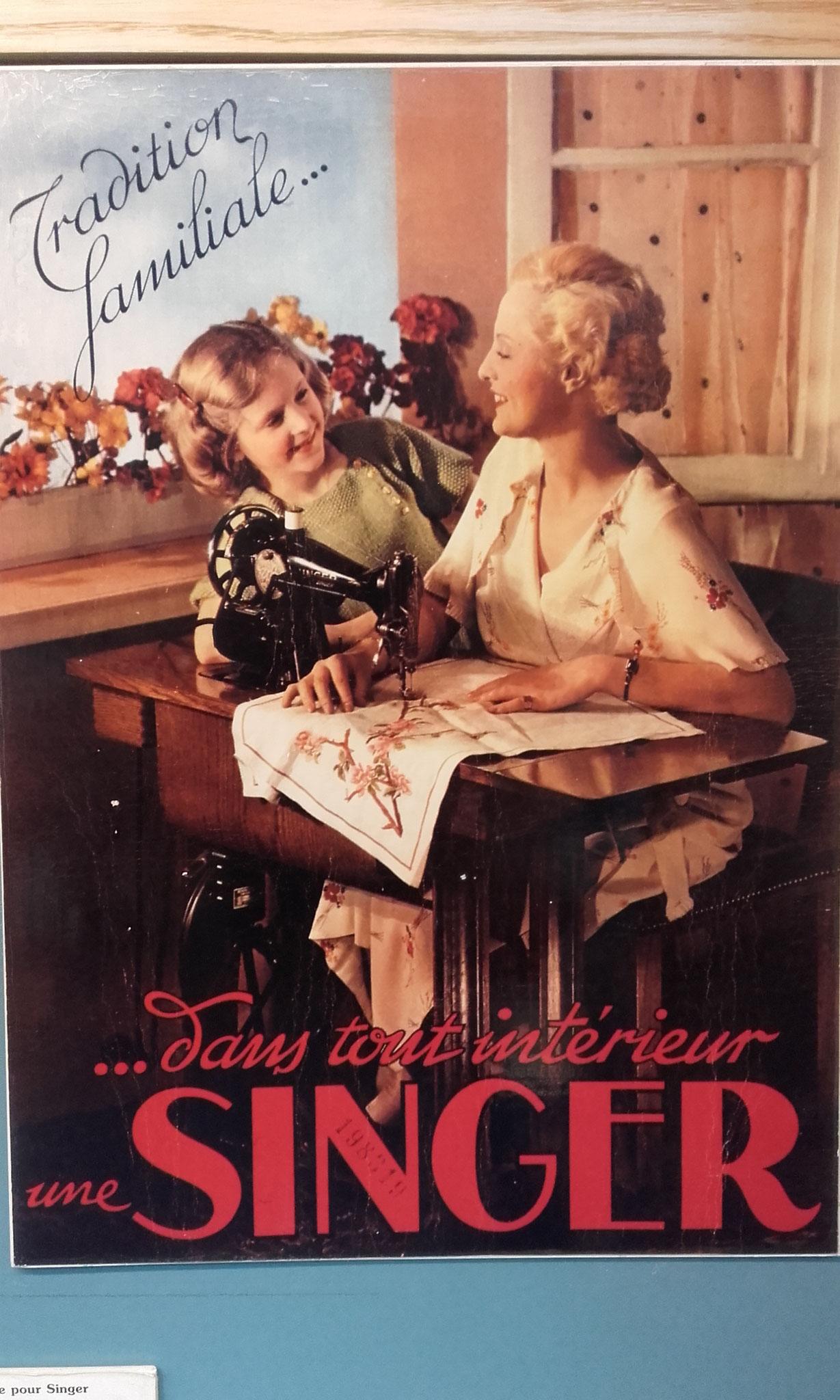 affiche pour devenir une vraie petite ménagère comme maman