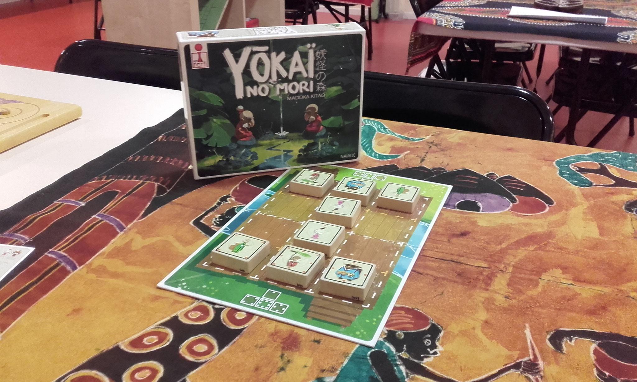 Yokai no mori, jeu d'initiation au Shogi (échecs japonais)