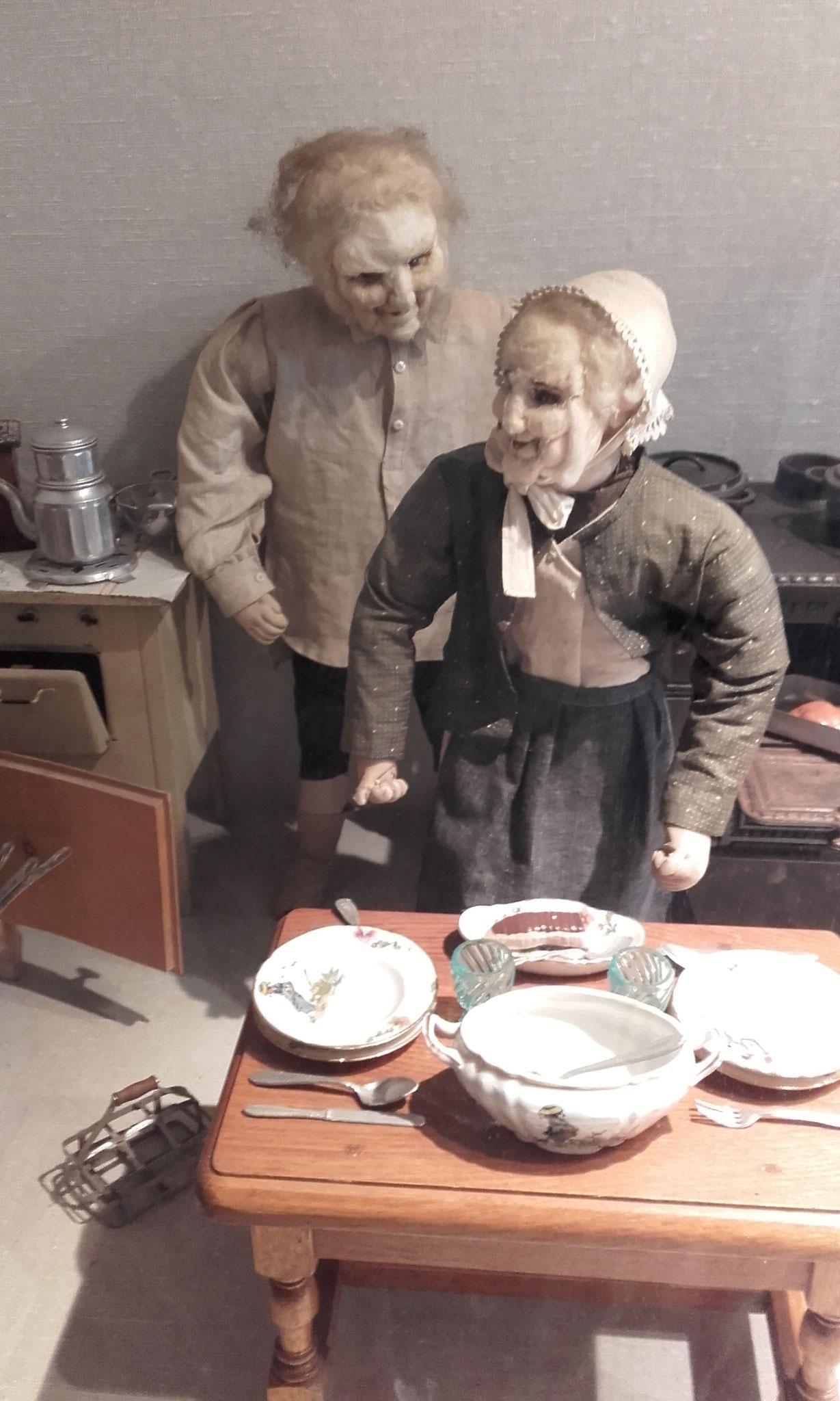 poupées qui font peur