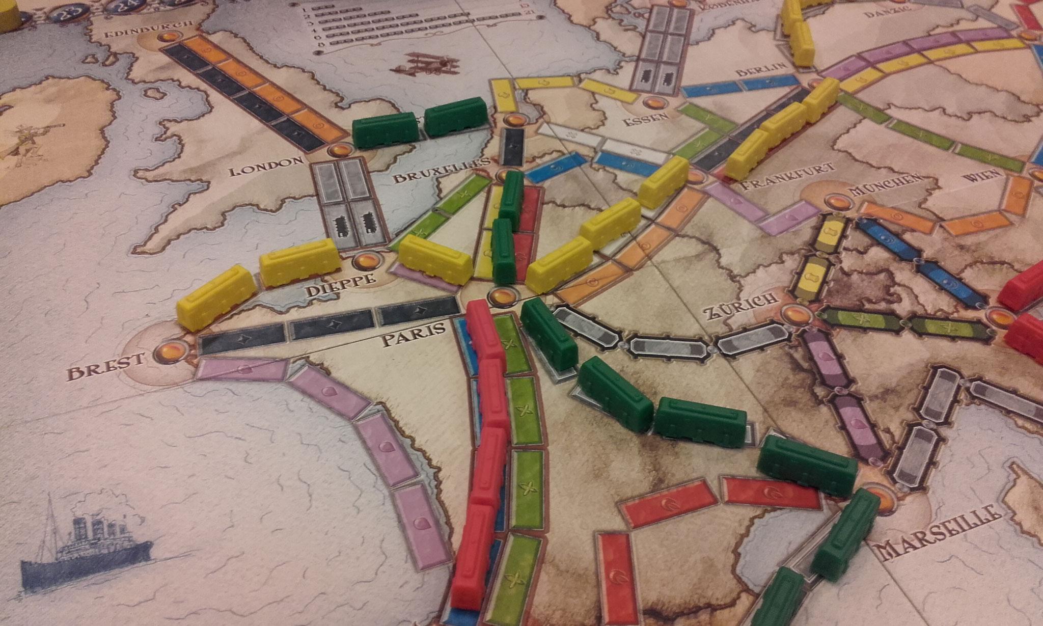 2e tour, table I : c'est la ruée sur Paris !