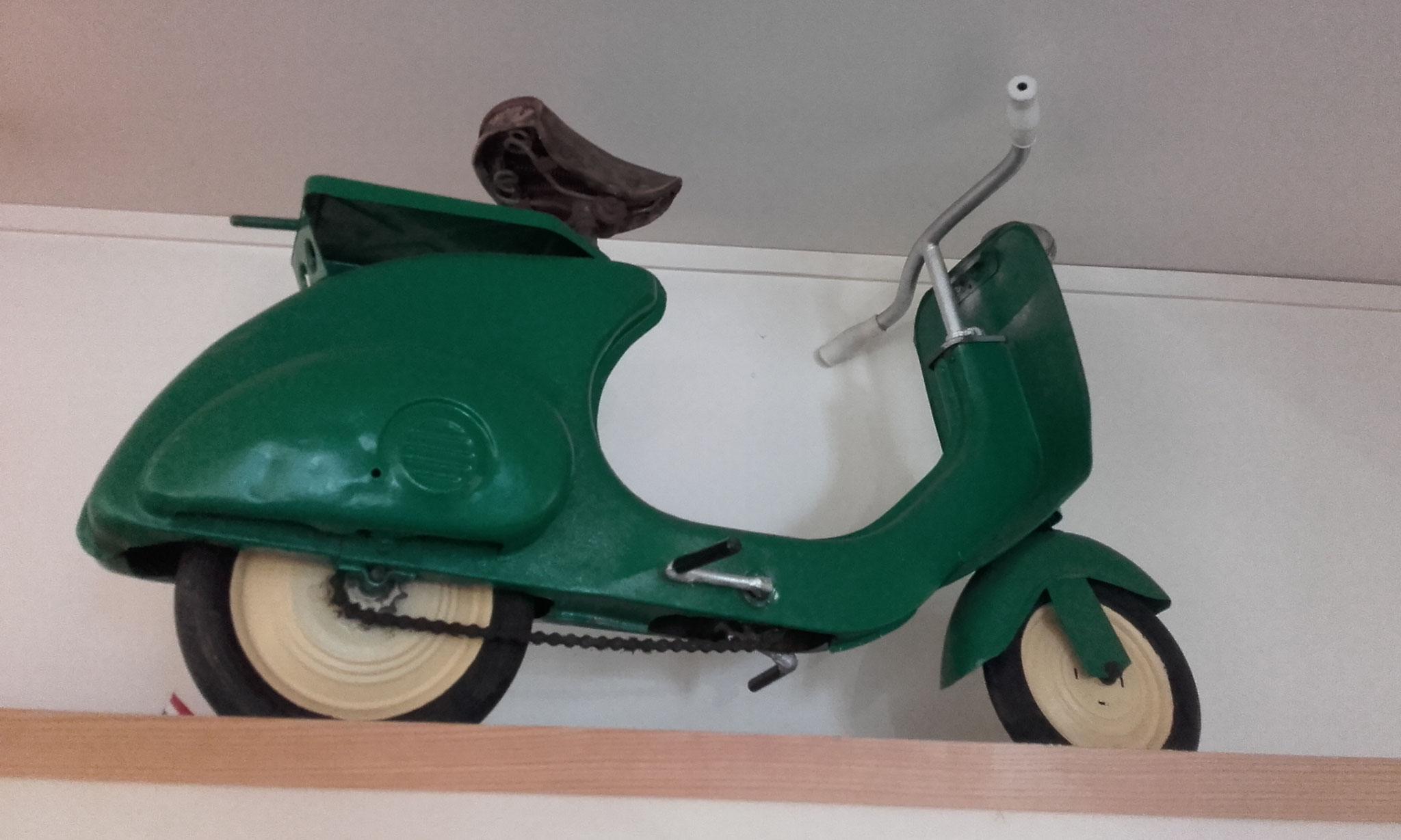 scooter à pédale