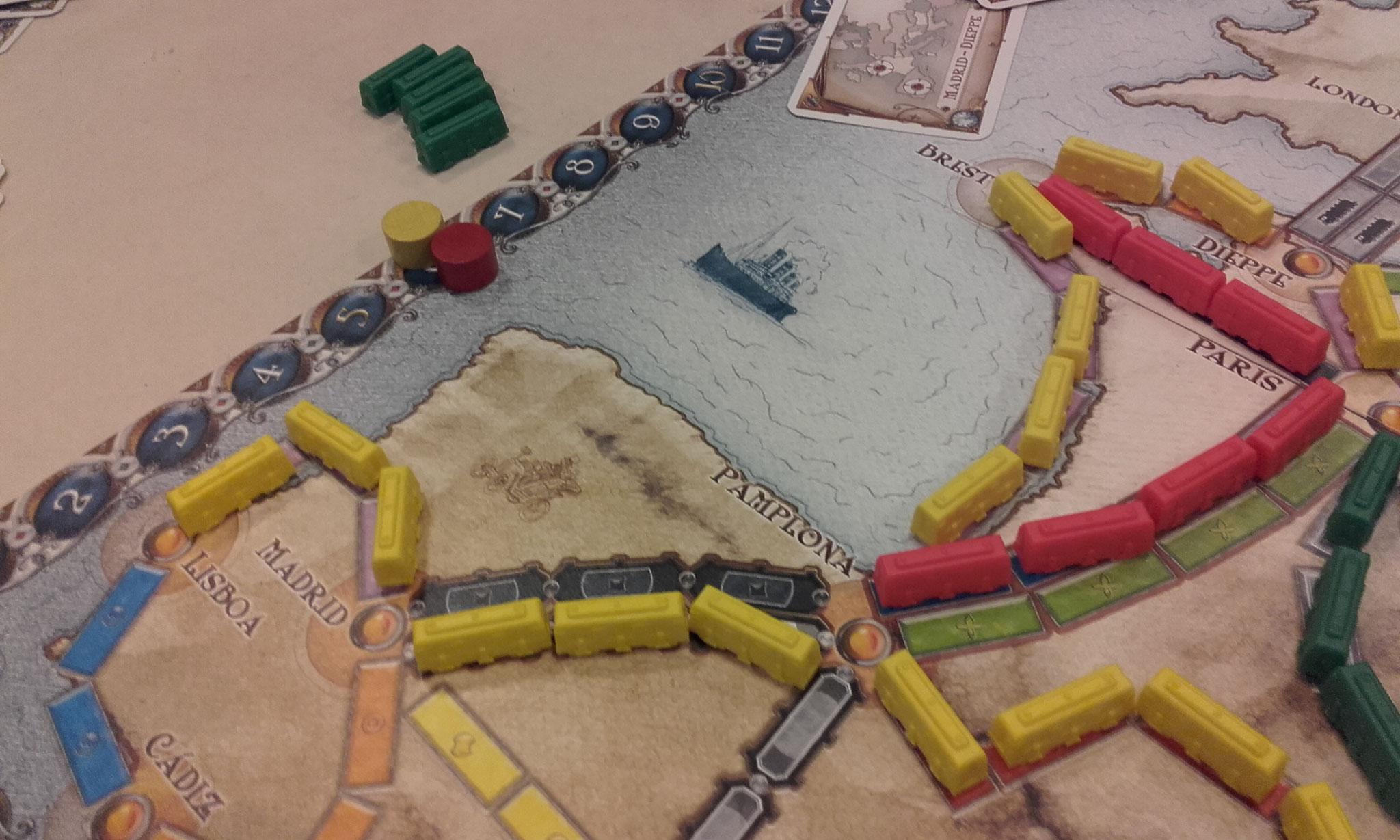 2e tour, table I : fin de partie, les deux premiers finissent à égalité !