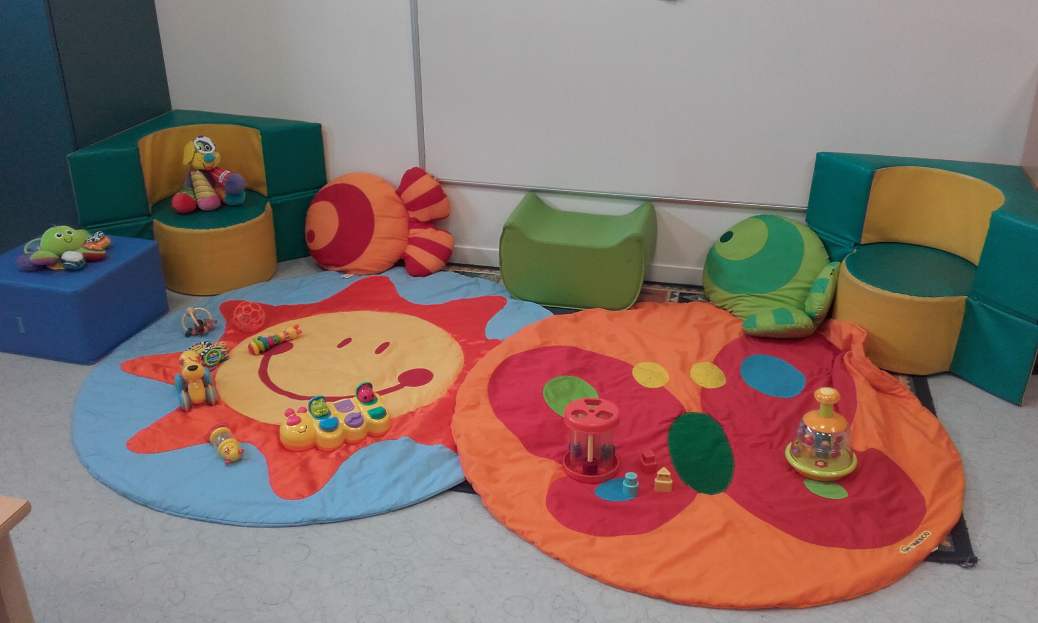 espace pour les bébés