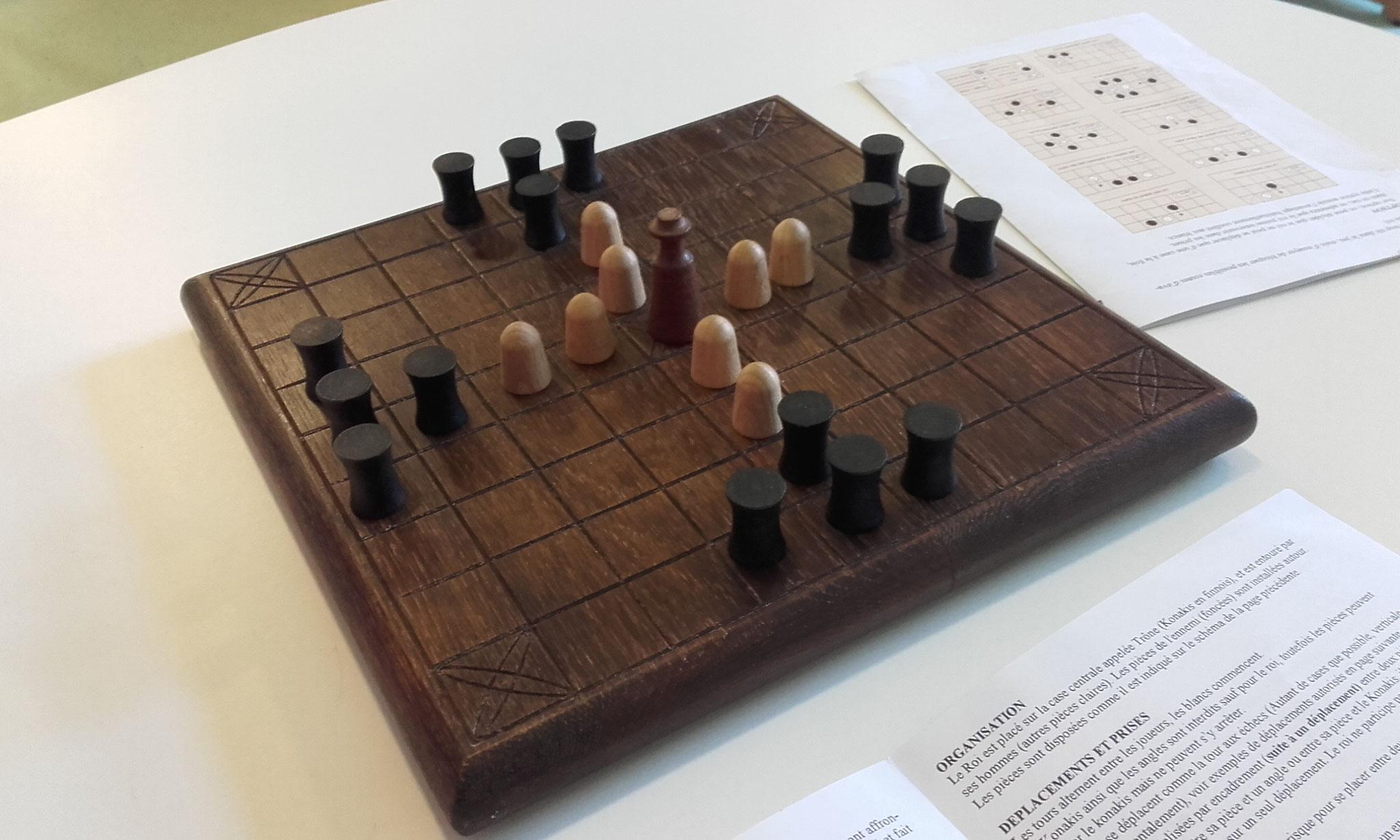 Tablut, un jeu de Tafl