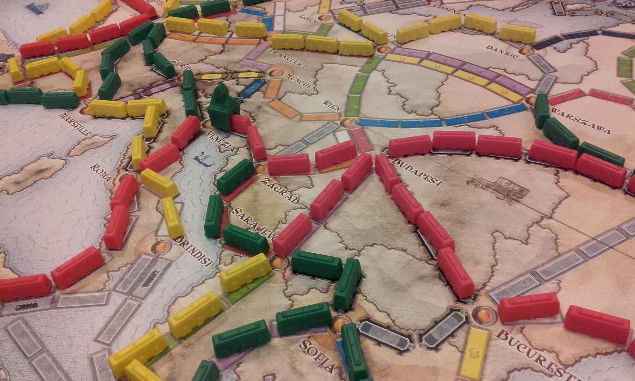2e tour, table I : c'est aussi la ruée sur Sarajevo !