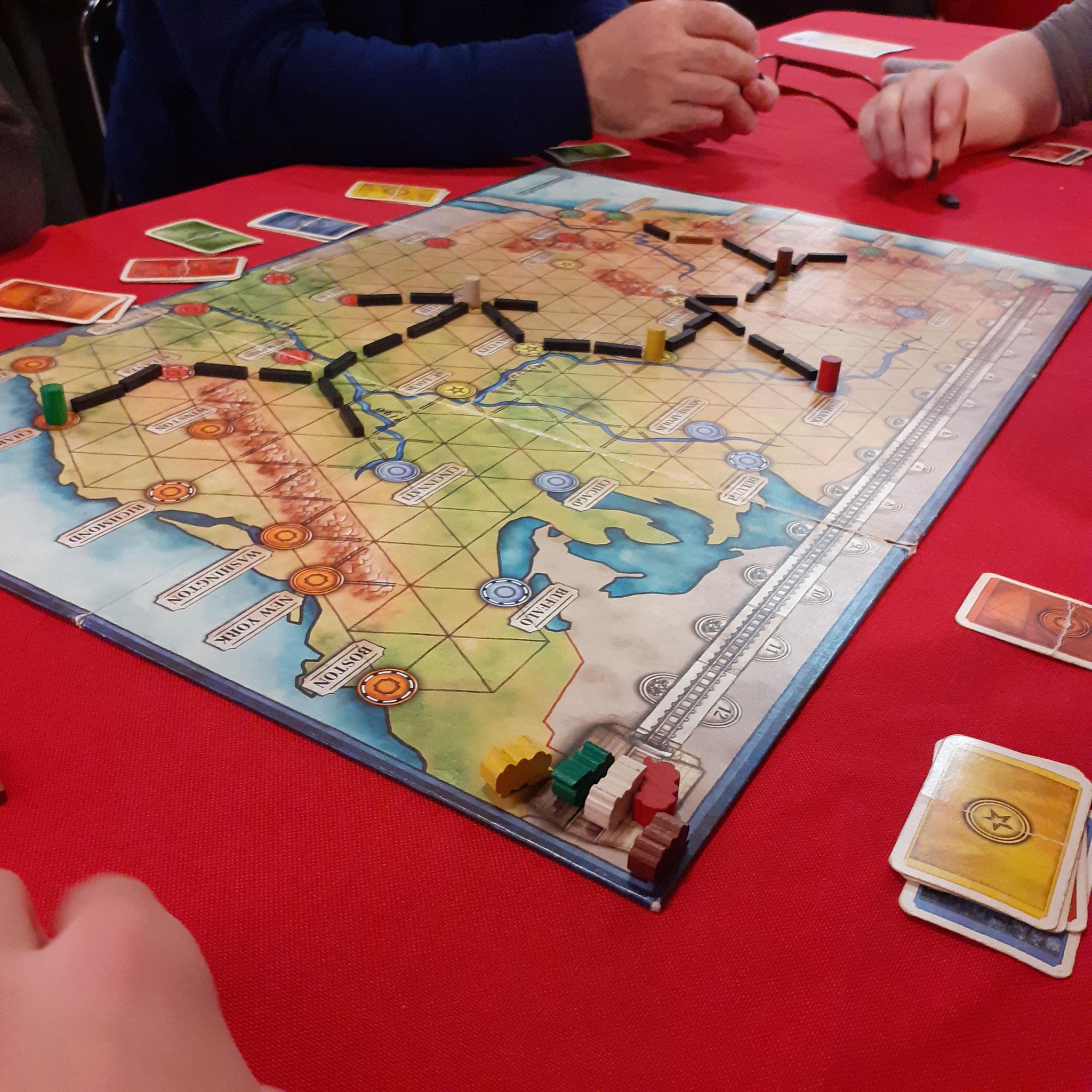 Soirée-jeux : Transamerica