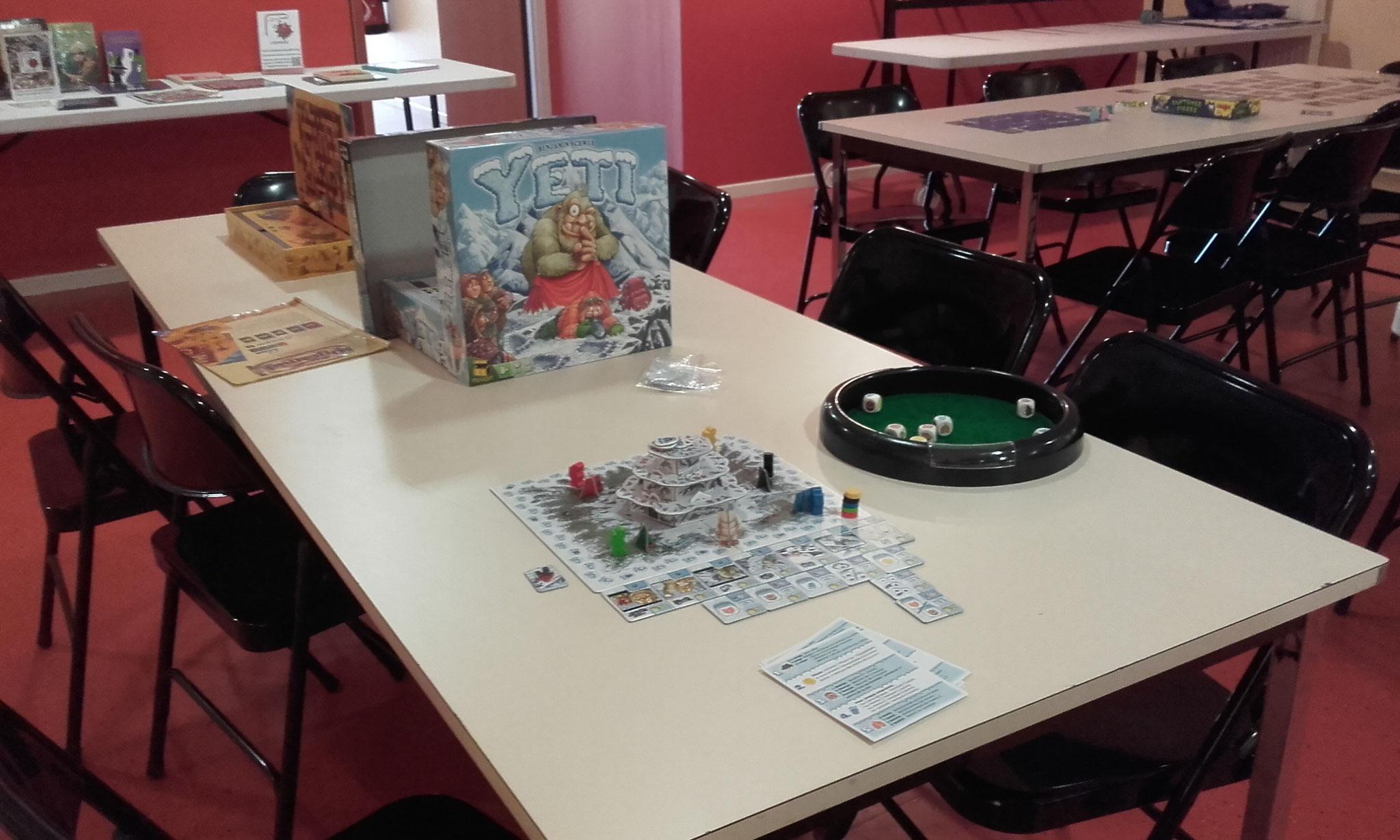des jeux : Yéti et Pyramid