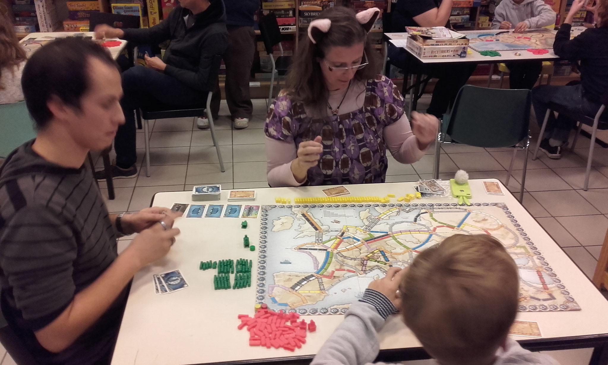 2e tour, table I : c'est parti pour l'Europe, ses tunnels et ses gares