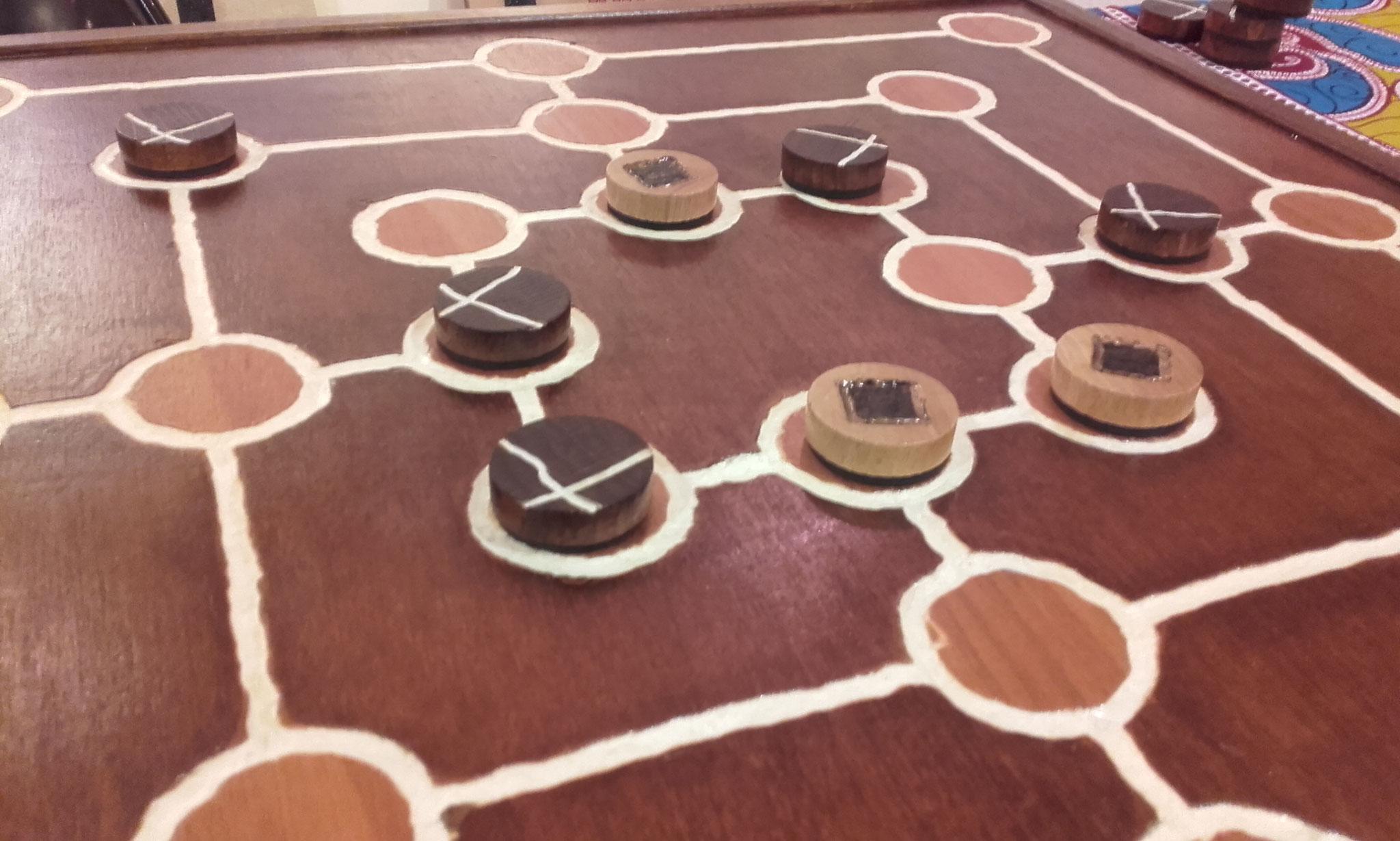 Moulin, jeu européen