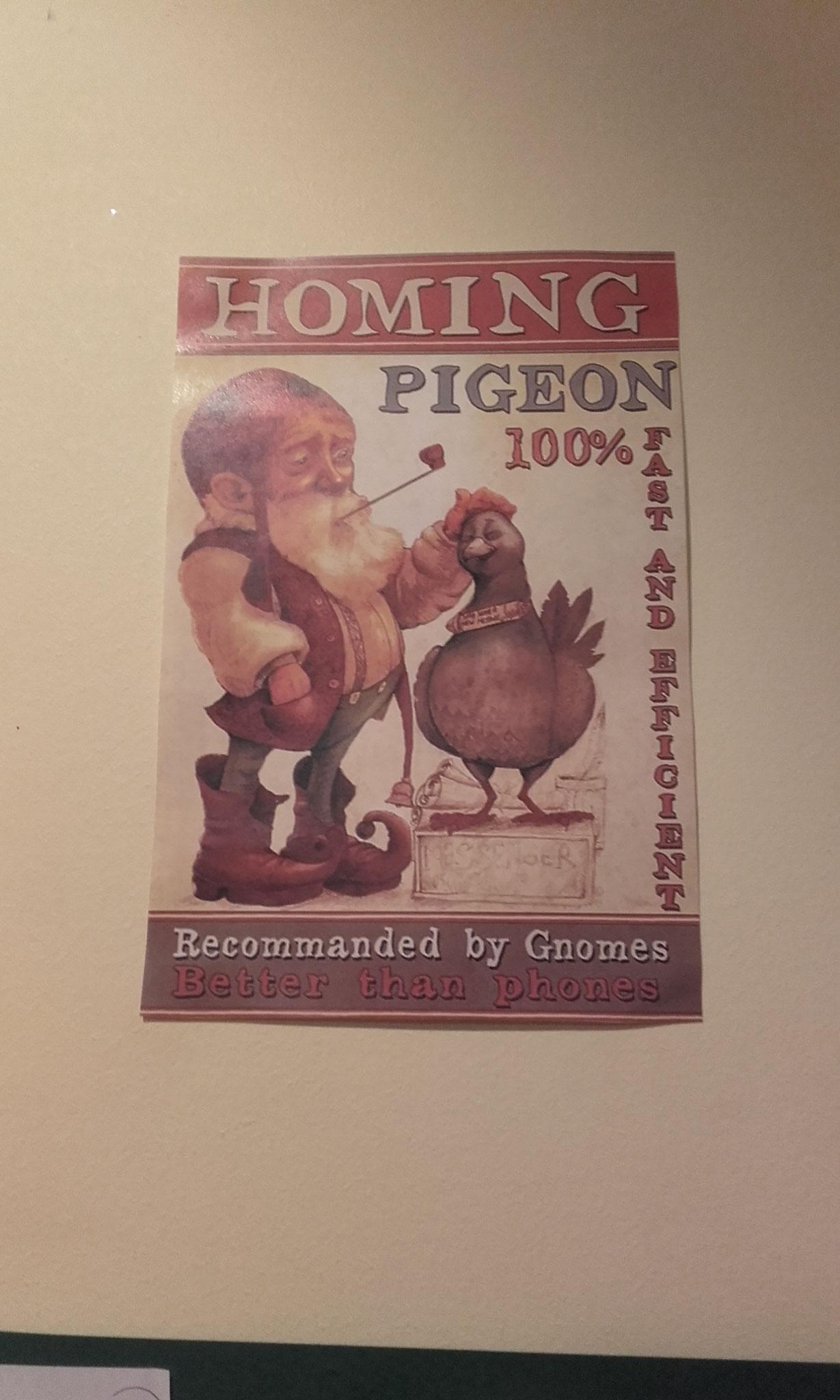 le Petit Peuple : affiche de gnome par Godo