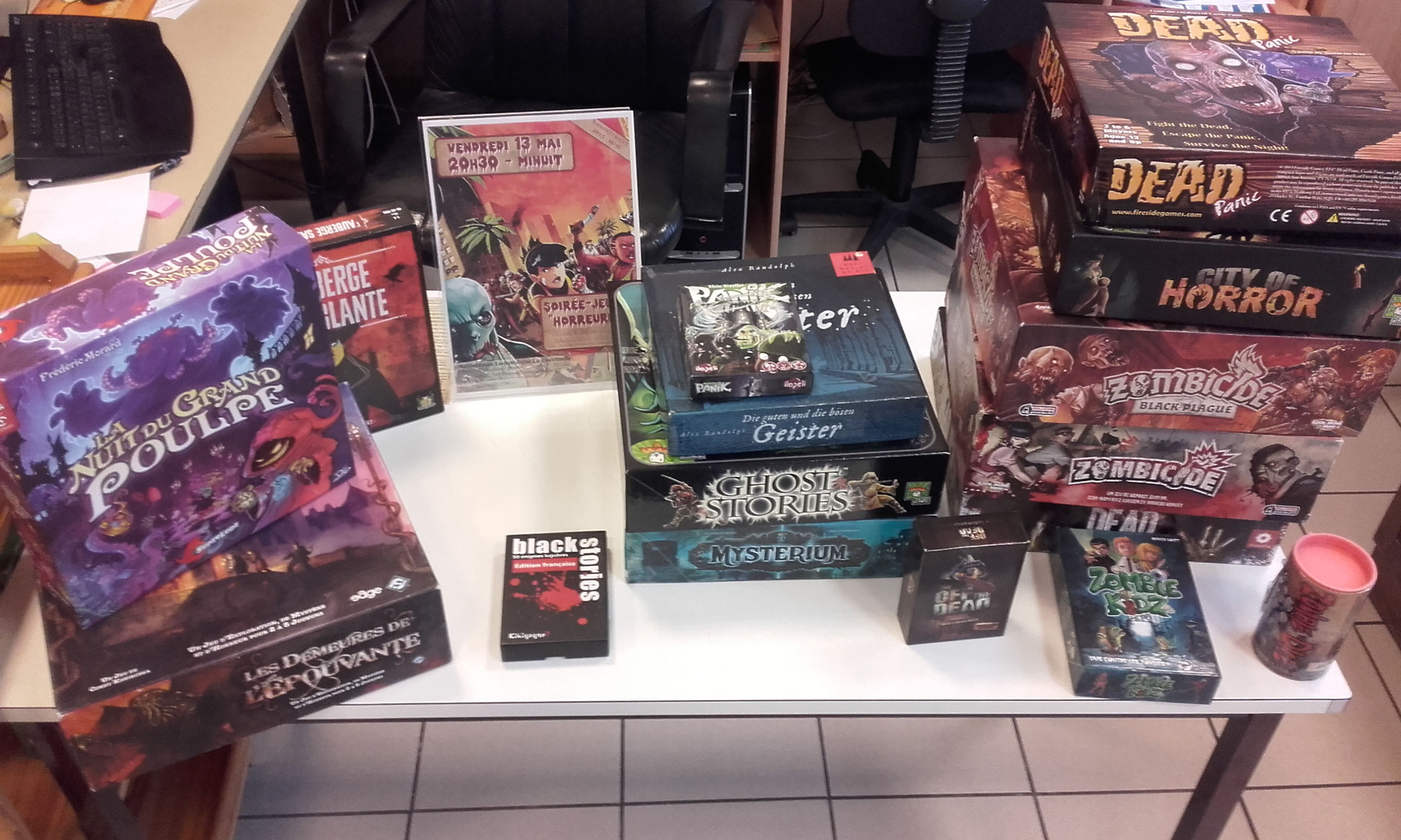 Jeux lovecraftiens, jeux d'horreur du quotidien, jeux de fantômes ou jeux de zombies ?