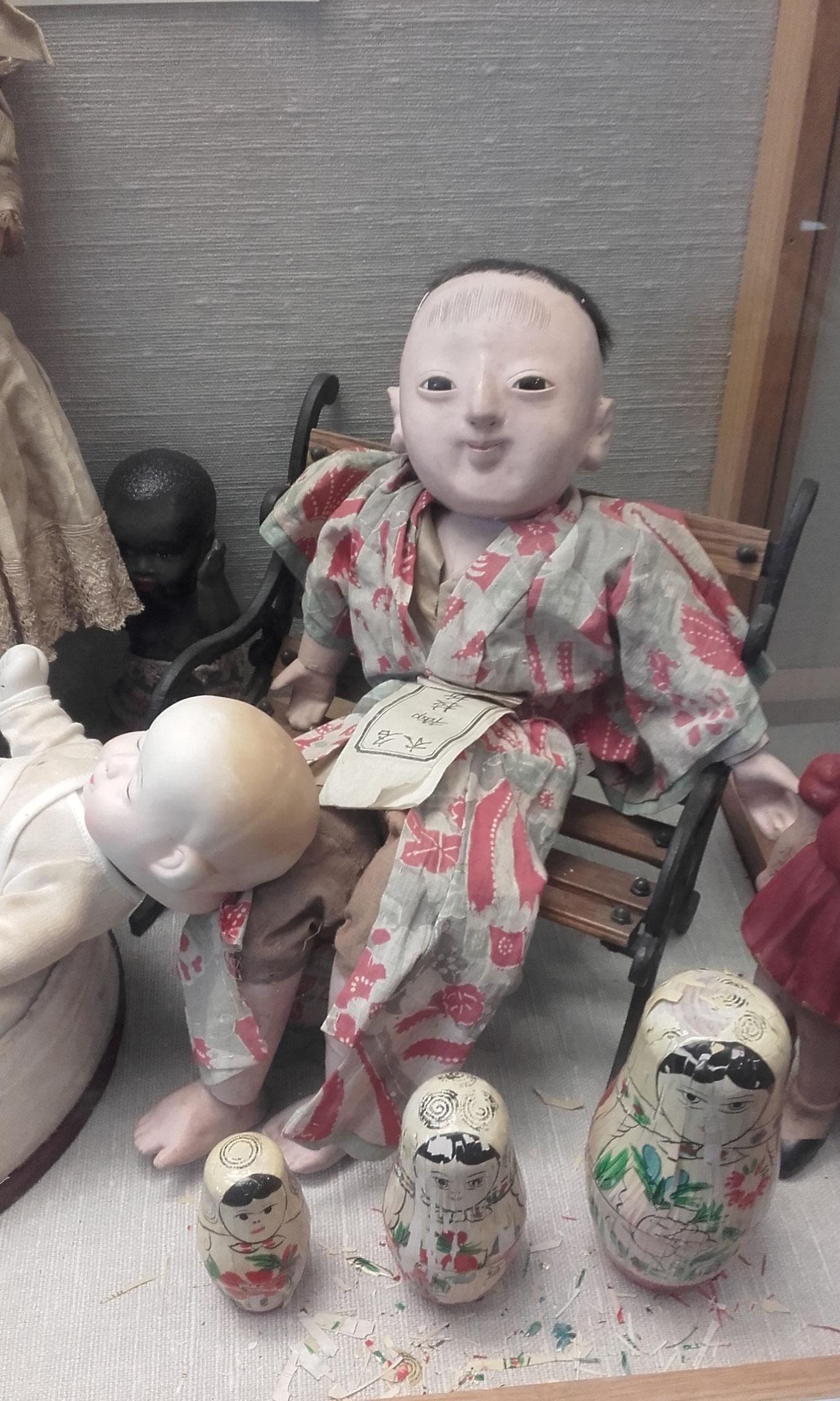poupée asiatique