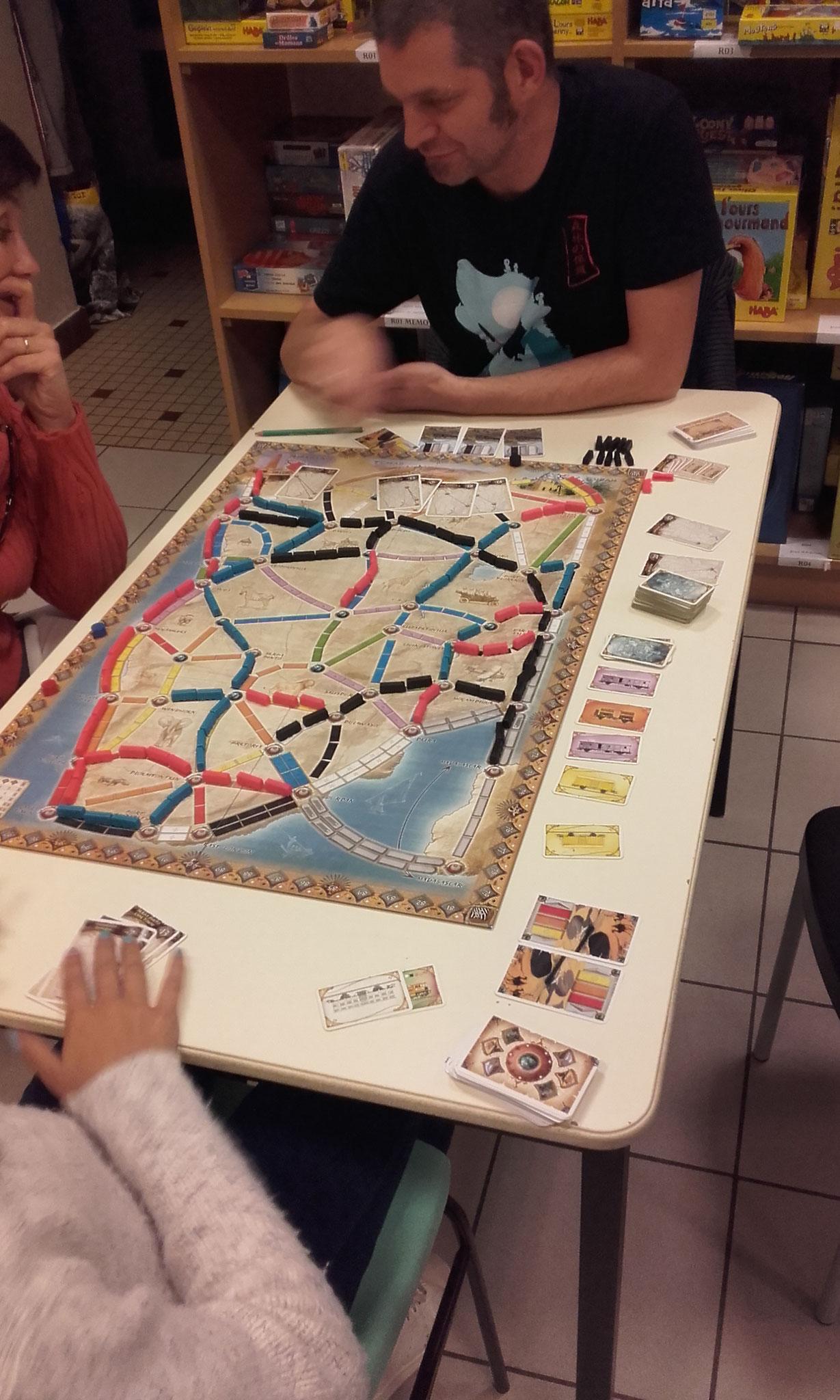 2e tour, table G : le centre de l'Afrique un peu déserté