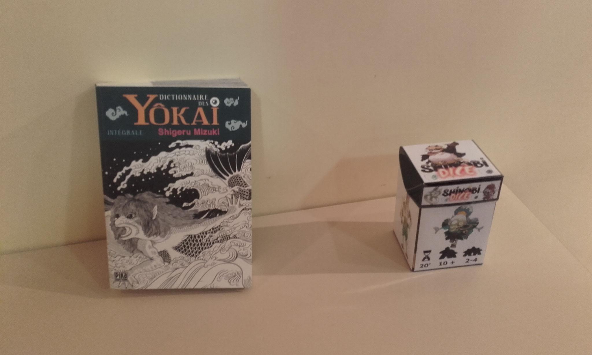 le dictionnaire des Yokai de Shigeru Mizuki