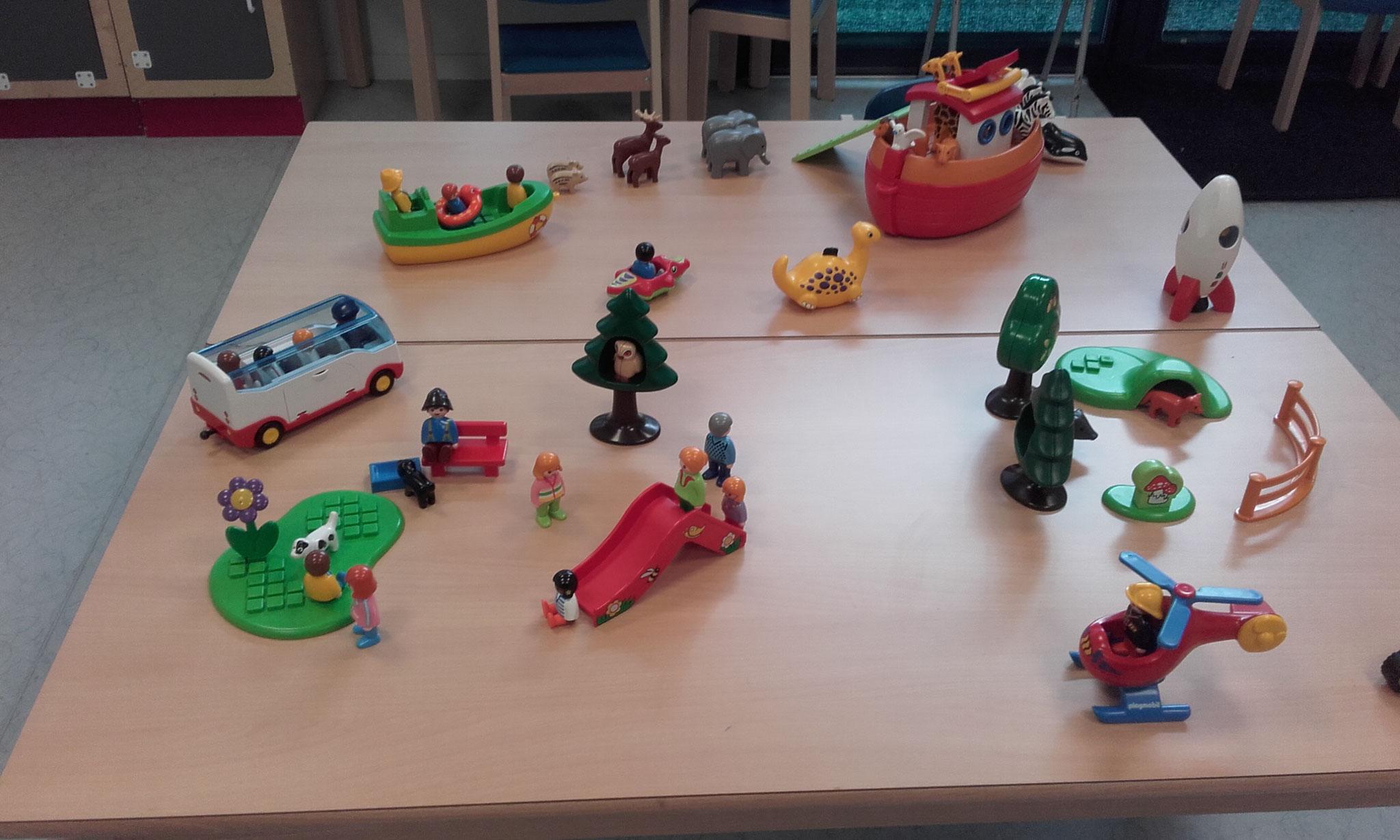espace Playmobil 123
