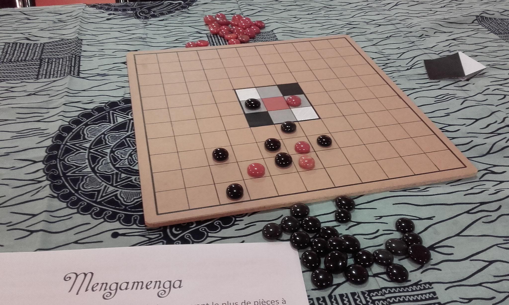 Mengamenga, jeu maori