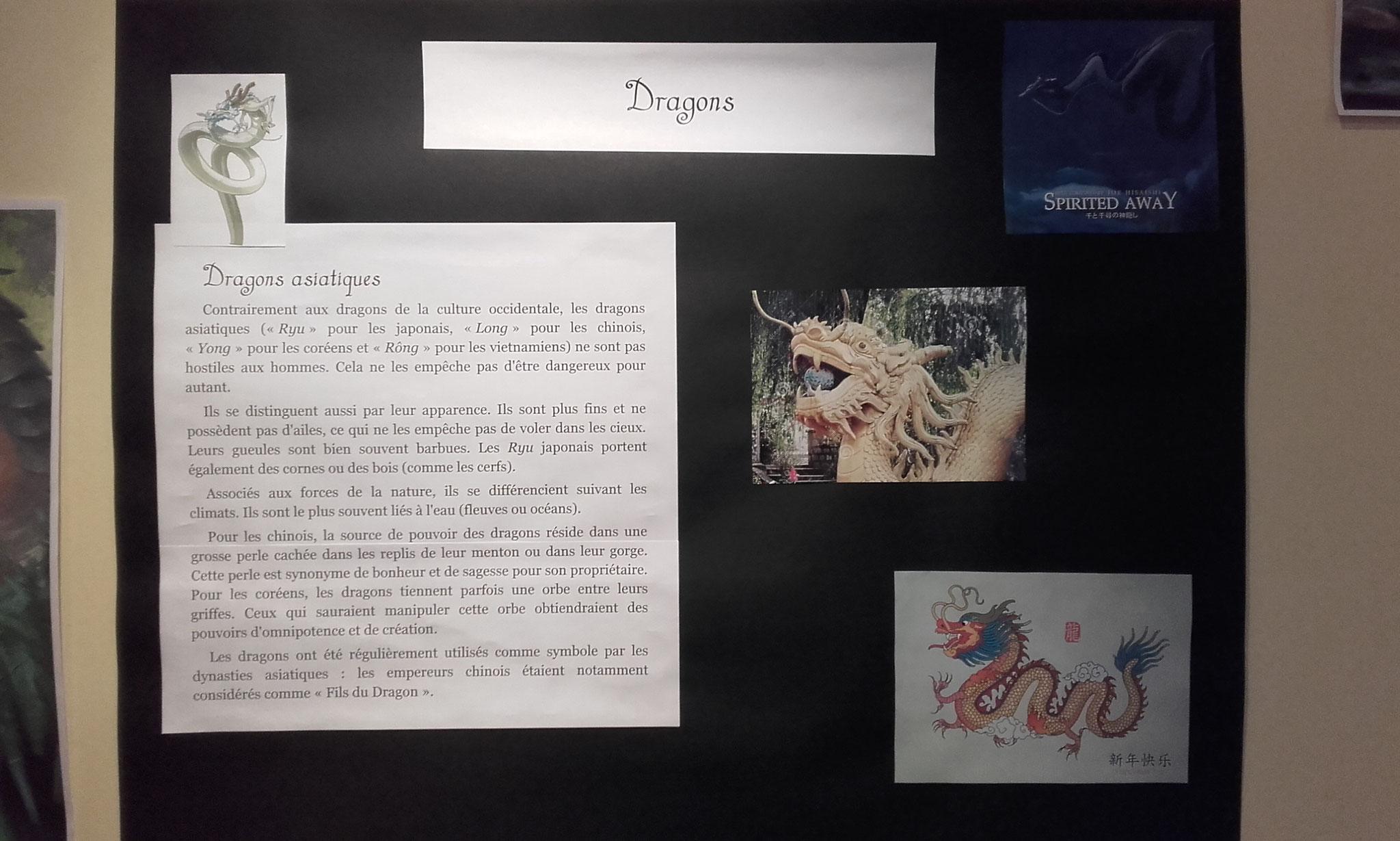 les dragons : dragons asiatiques