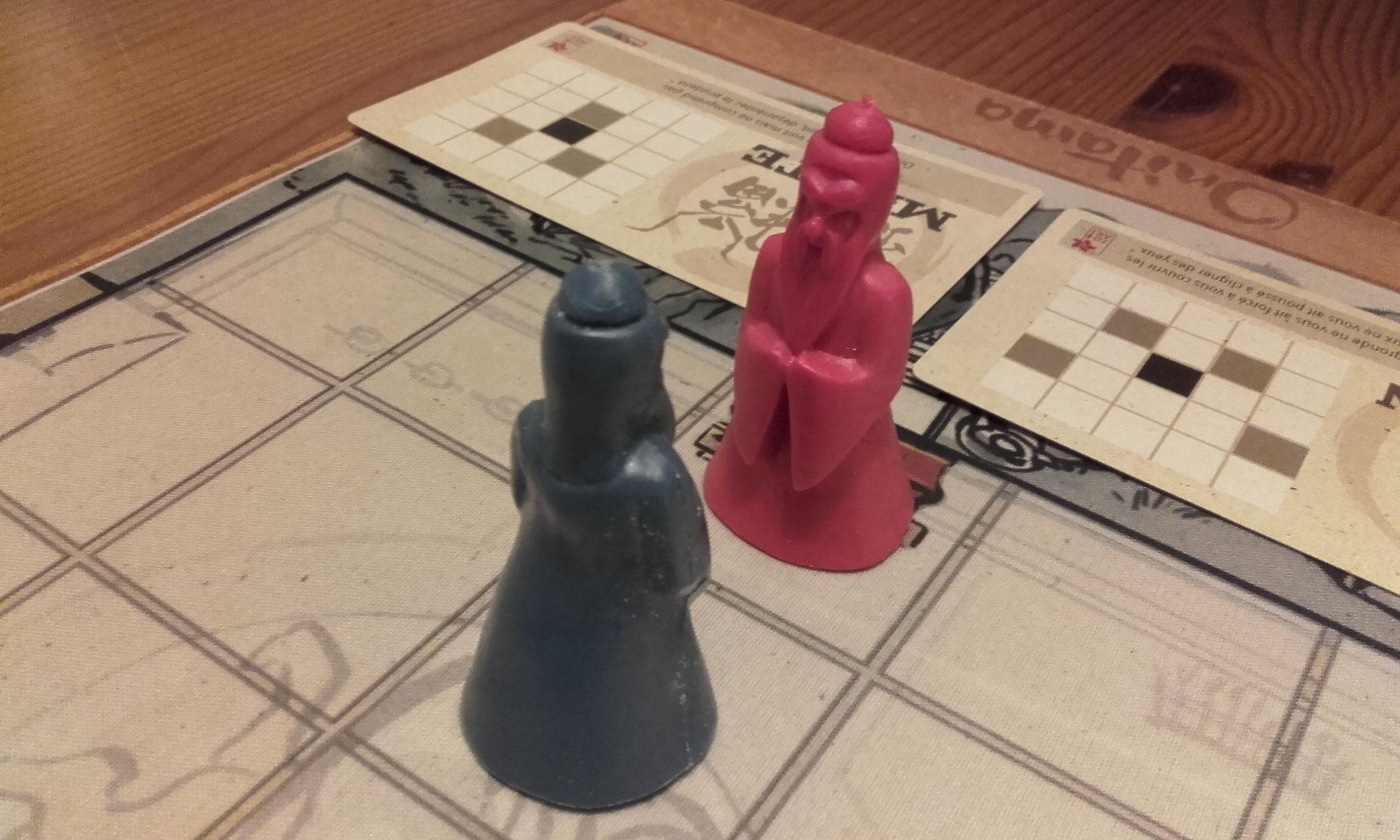 Onitama : duel de senseï