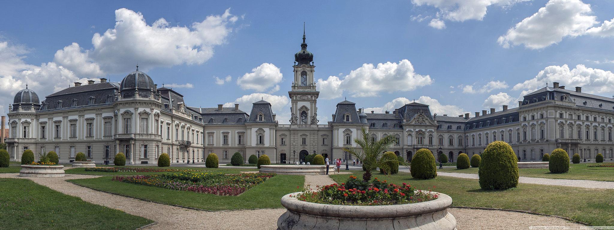 Het Festetics kasteel in Keszthely