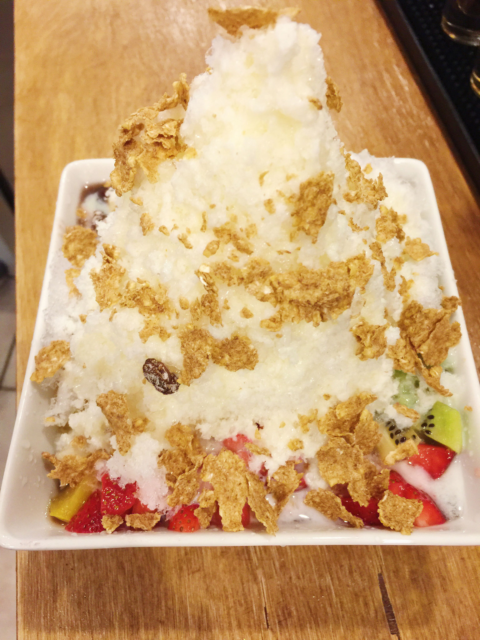 Red Bean Shaved Ice (Bing-soo) - $7.99