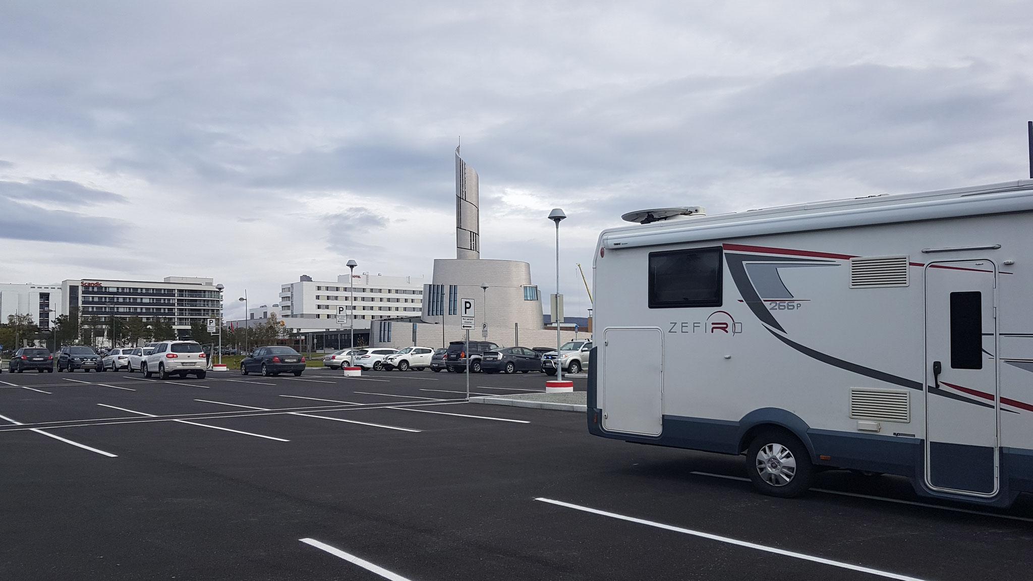 Parkplatz in Alta