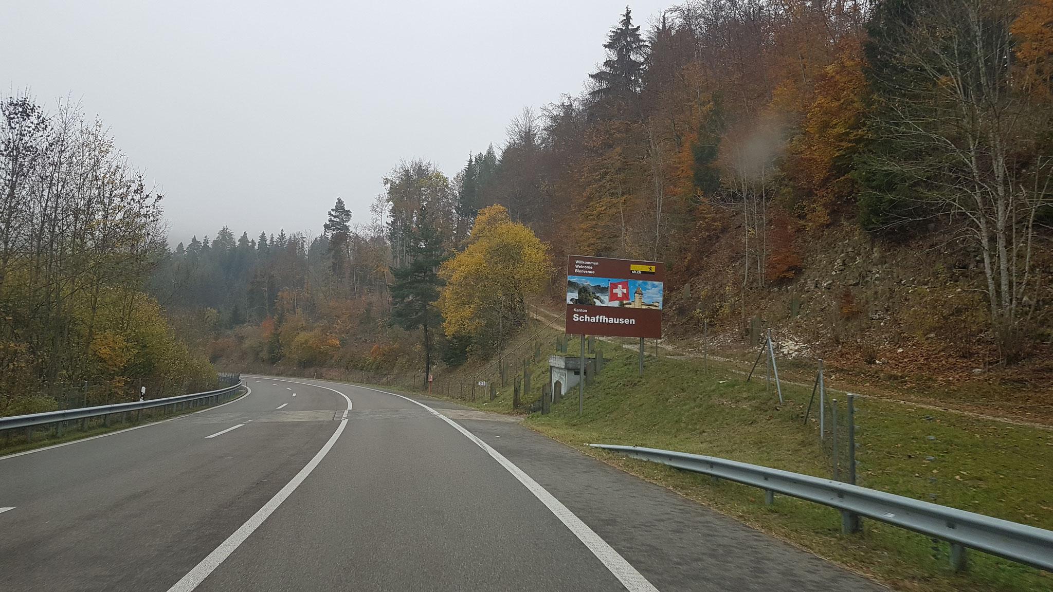 ...kaum ist man wieder in der Schweiz