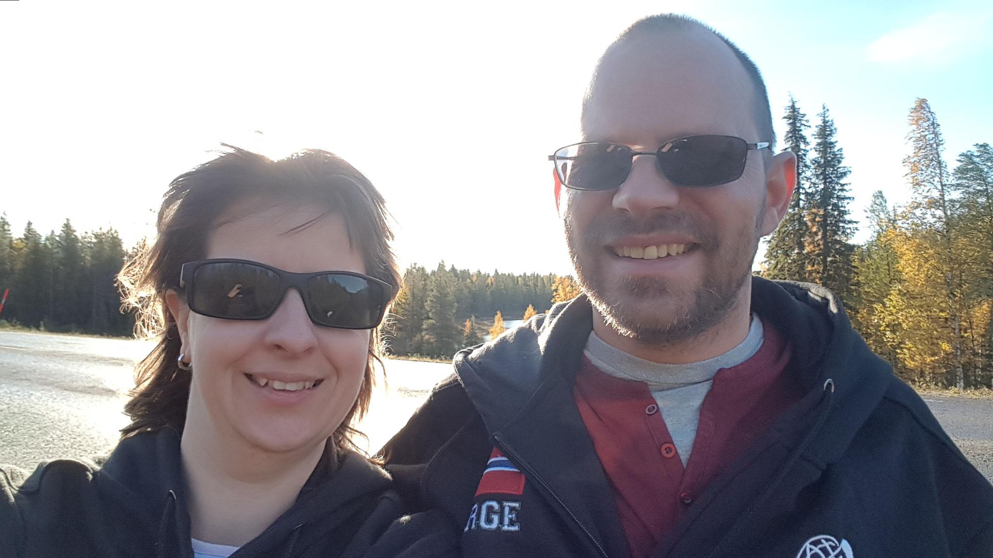 Zwei mit Nordkapp-Jacke