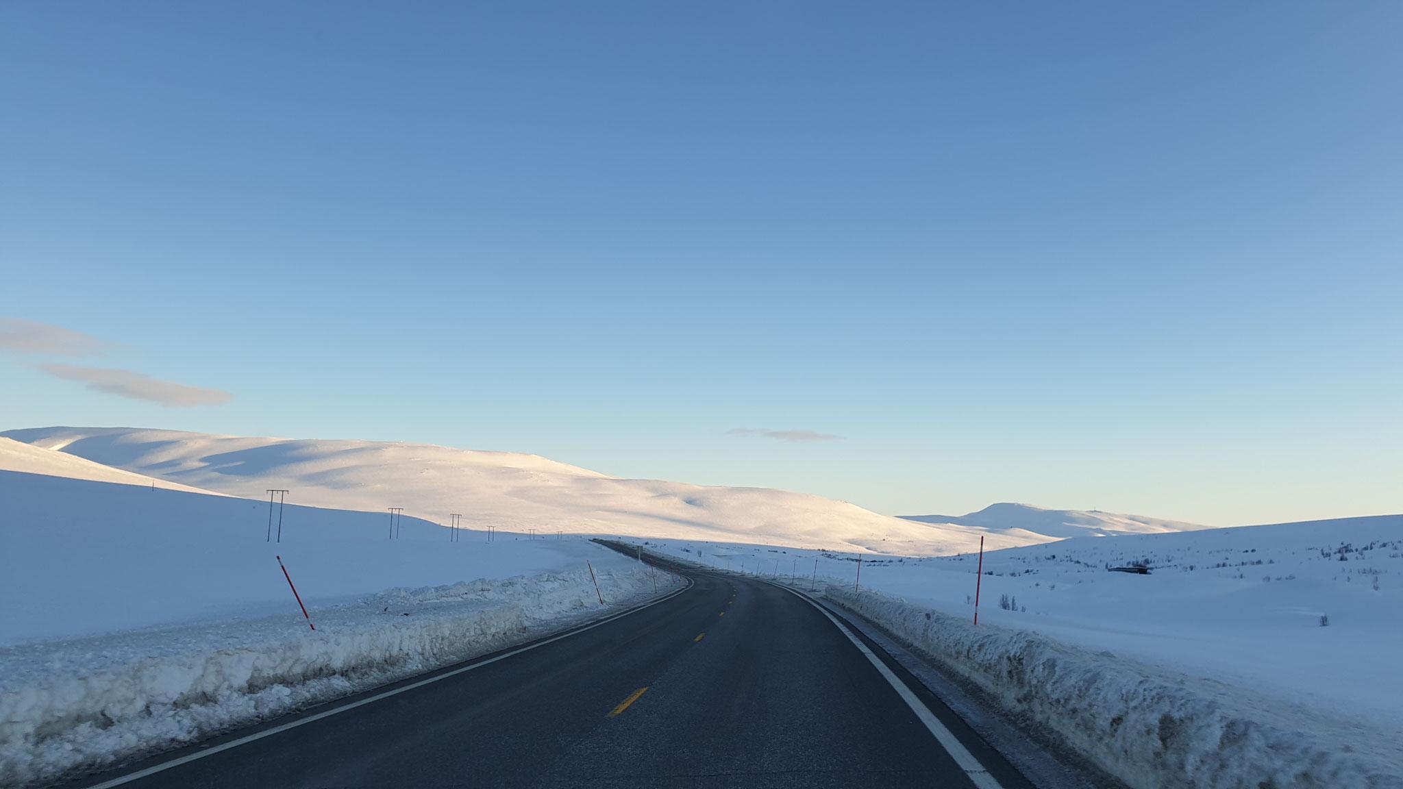 Zurück nach Mosjøen