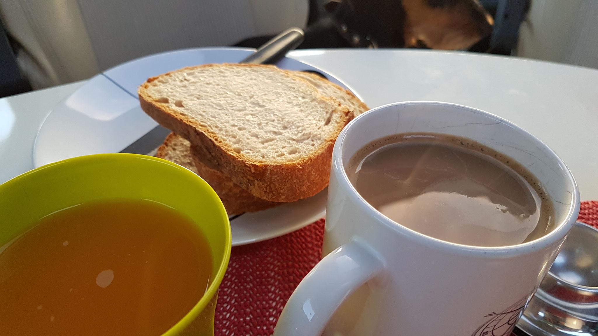 Erst ein Frühstück...