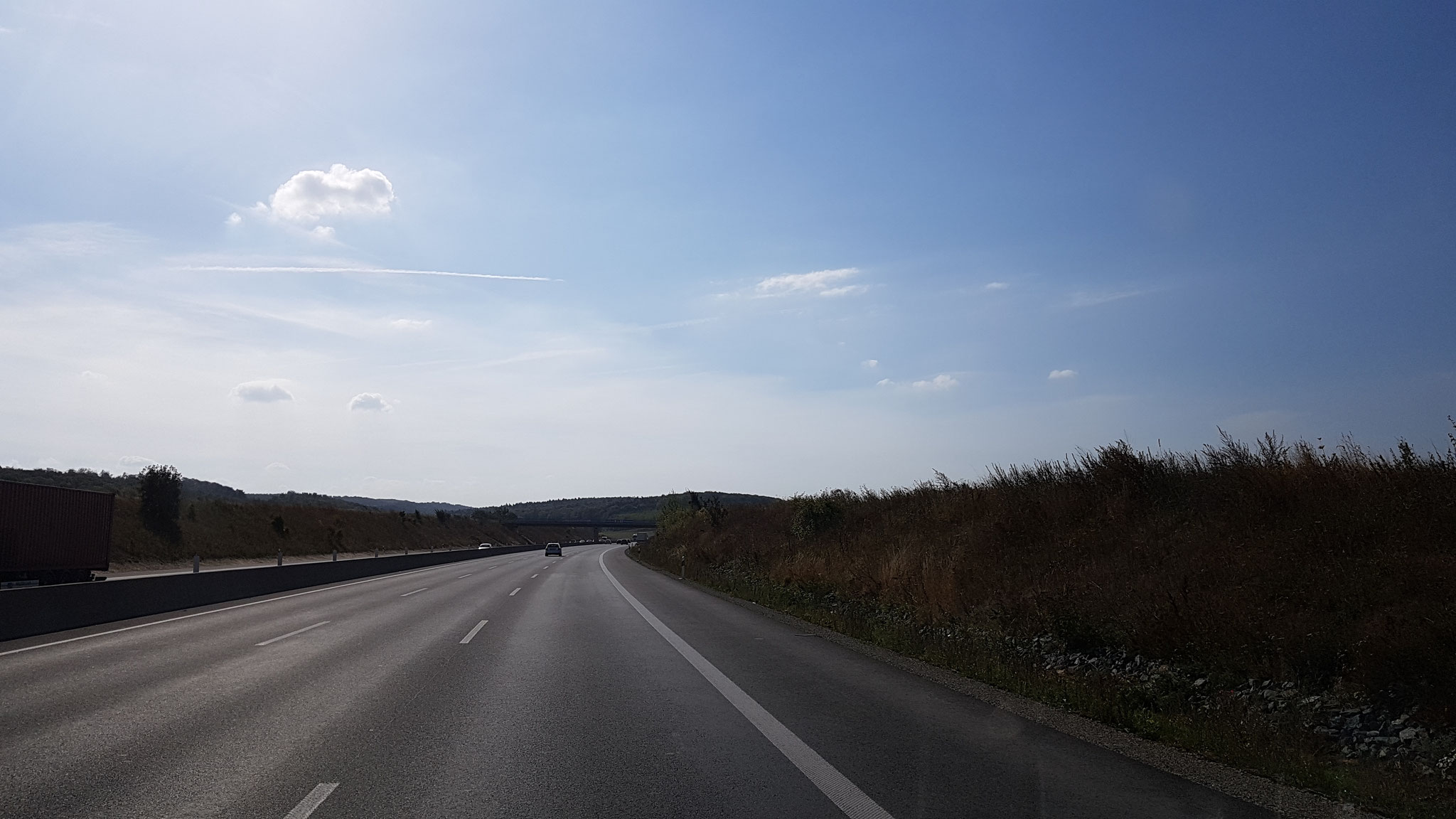 Autobahn-Kilometer abspulen