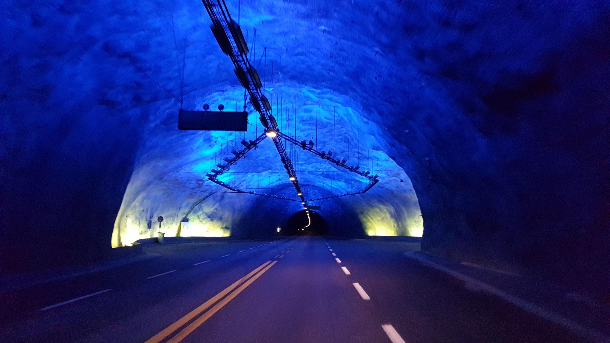 Alleine im Tunnel....
